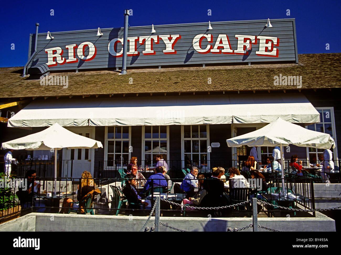 Menschen, Touristen, Gäste, Küche, Rio City Cafe, Old Sacramento ...