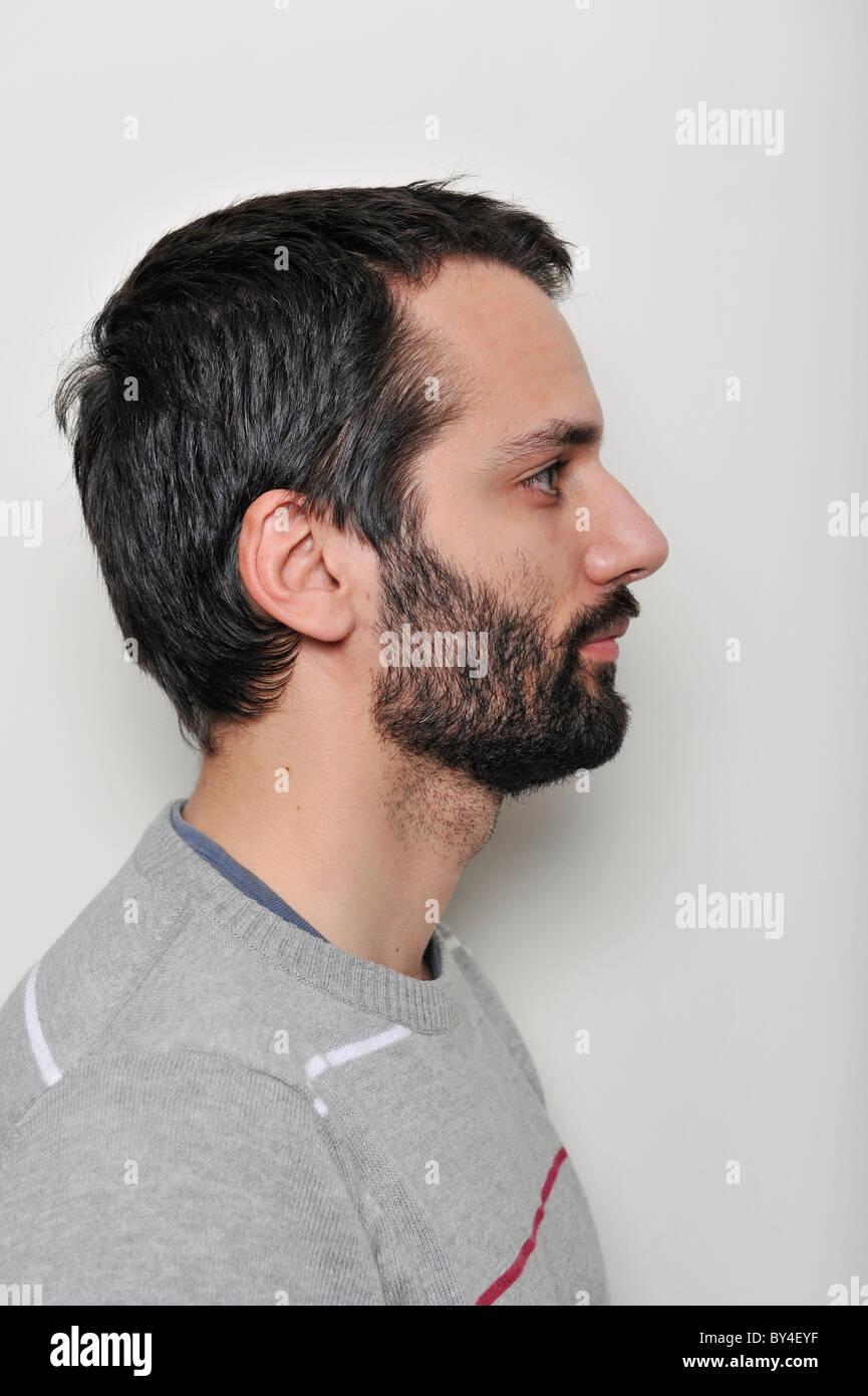 Profil Mann
