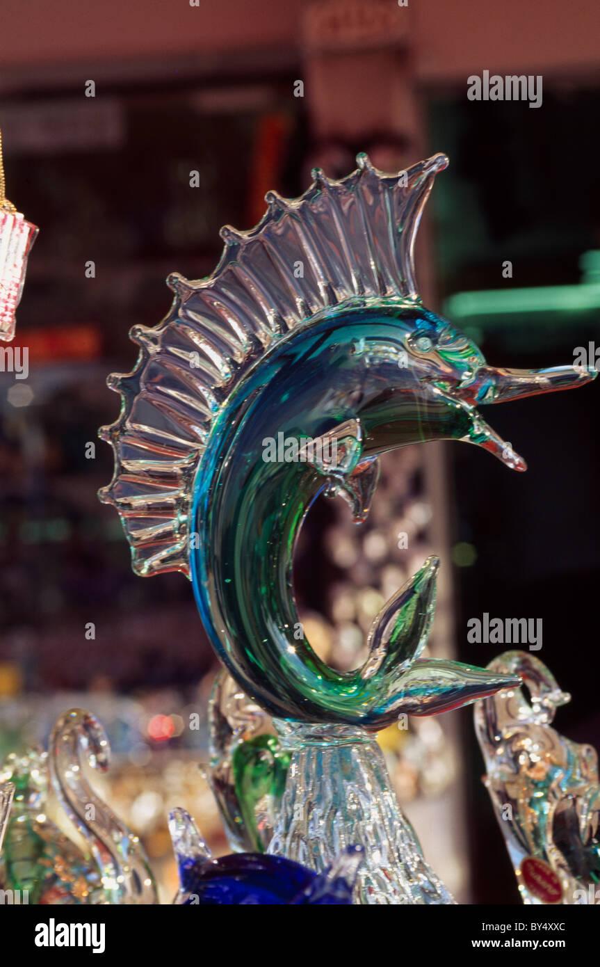 Murano-Glas, Venedig, Italien Stockbild
