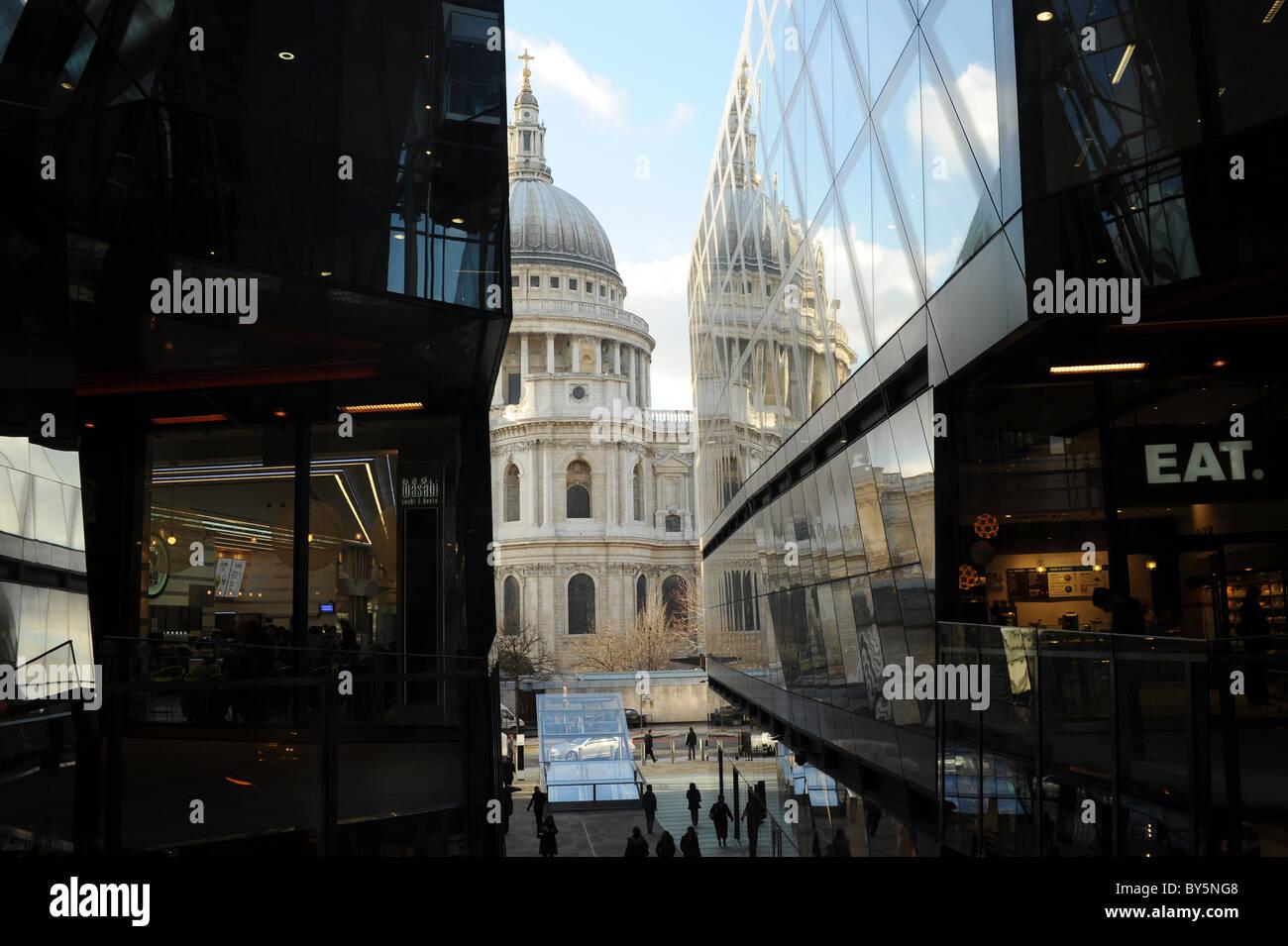 Eine neue Änderung Shopping Centre, London, England Stockfoto