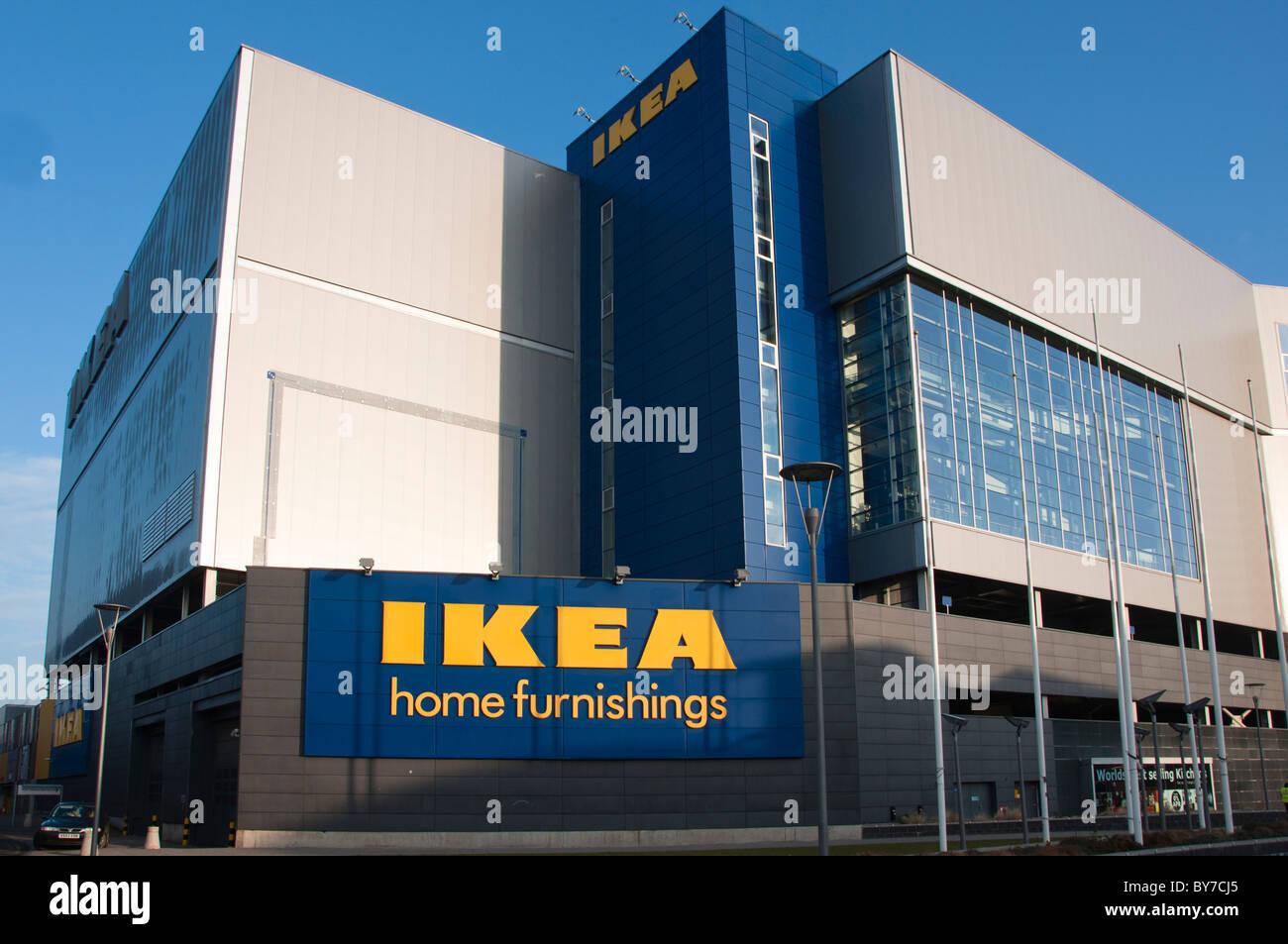 Eine Grosse Ikea Einrichtungshaus In Coventry West Midlands England