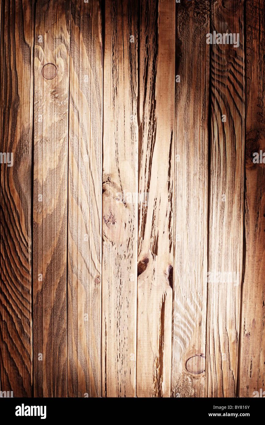 Bildstruktur von alten Holzbohlen. Stockbild