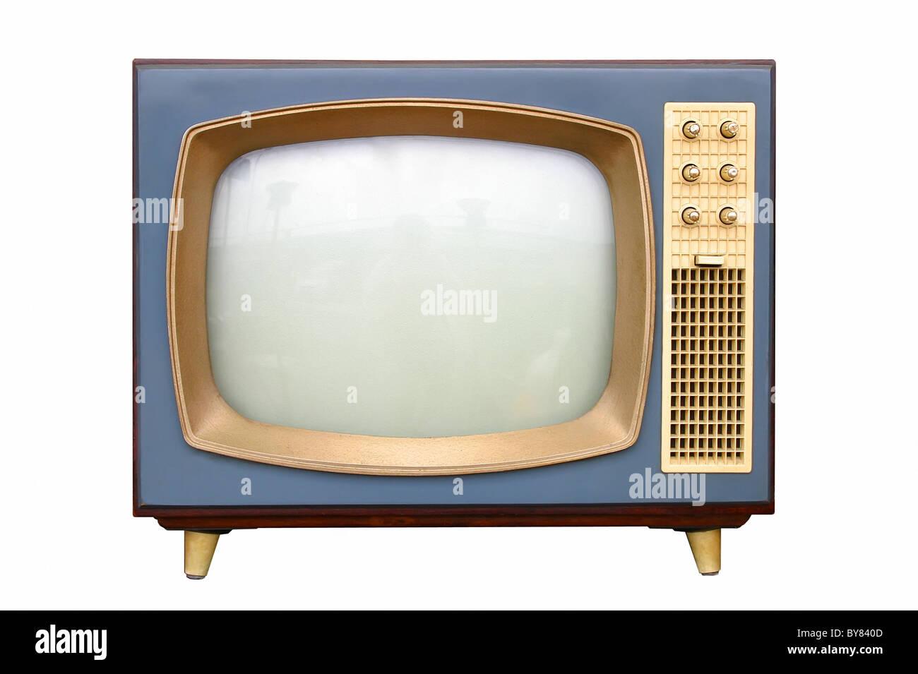 TV-Apparat von 1950 Stockbild