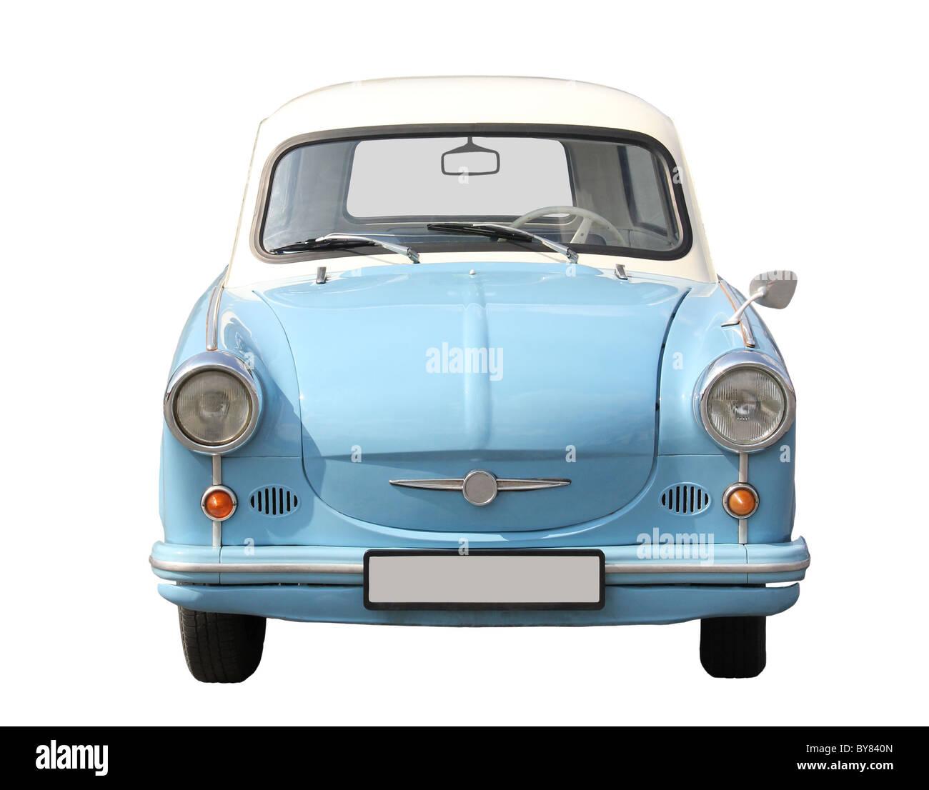 Europäische Typ Auto aus den 70er Jahren. Stockbild