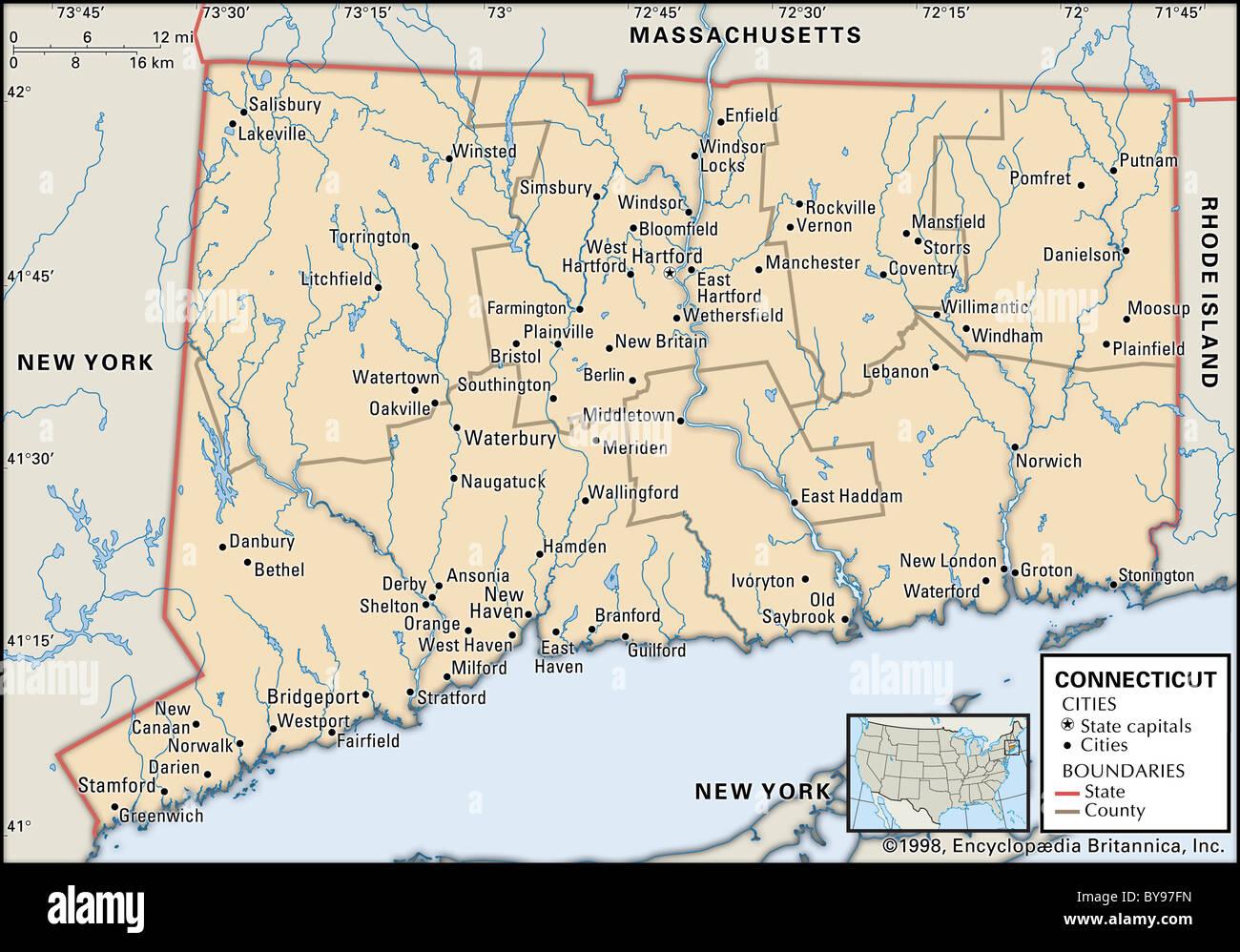 Cartography Map England Stockfotos & Cartography Map England Bilder ...