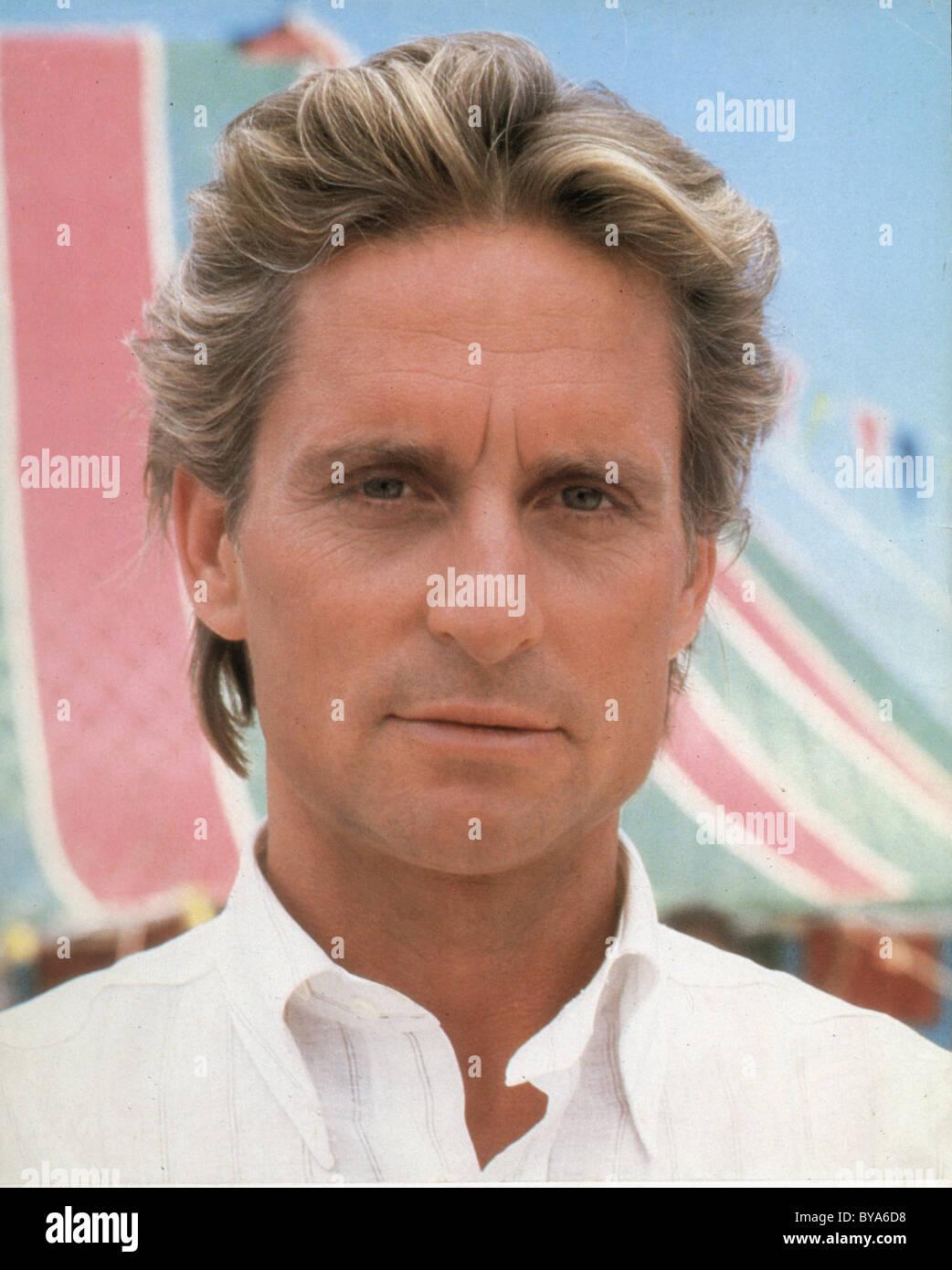 Das Juwel des Nils-Jahr: 1985 - USA Regie: Lewis Teague Michael Douglas Stockbild