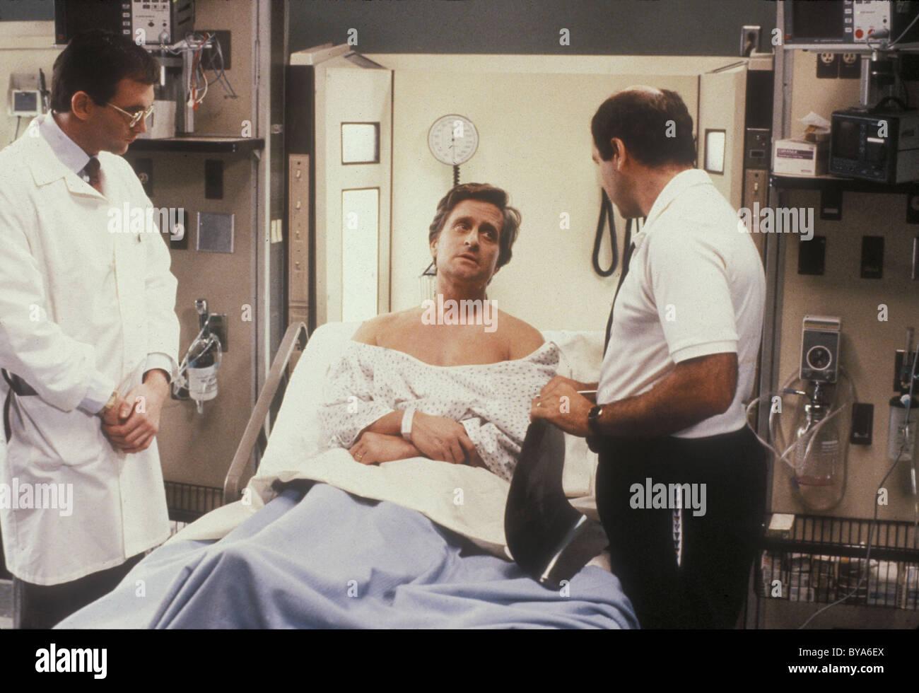 Der Krieg der Rosen Jahr: 1989 USA Regie: Danny De Vito Michael Douglas Stockbild