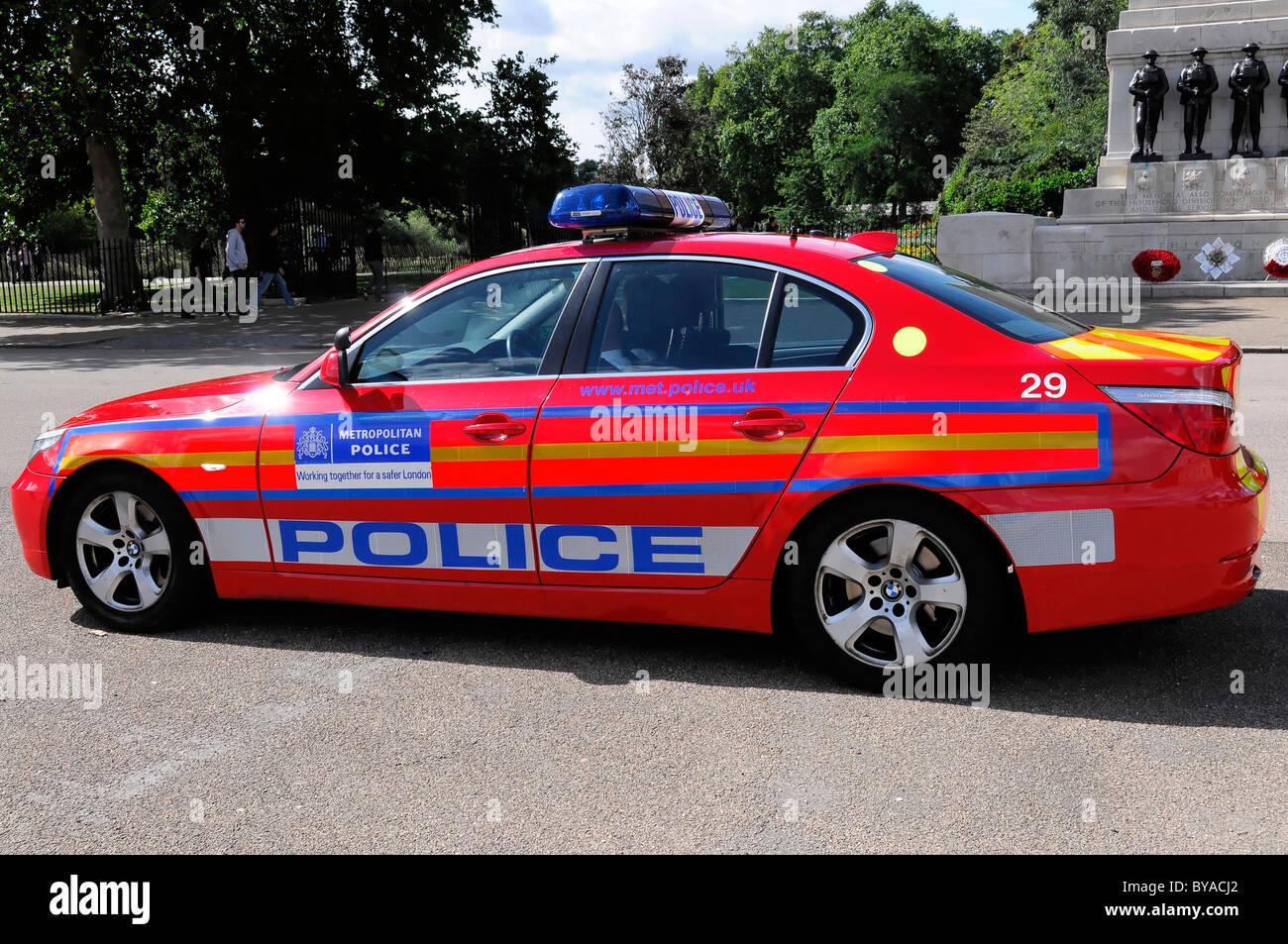 Polizeiauto Metropolitan Police Service London England
