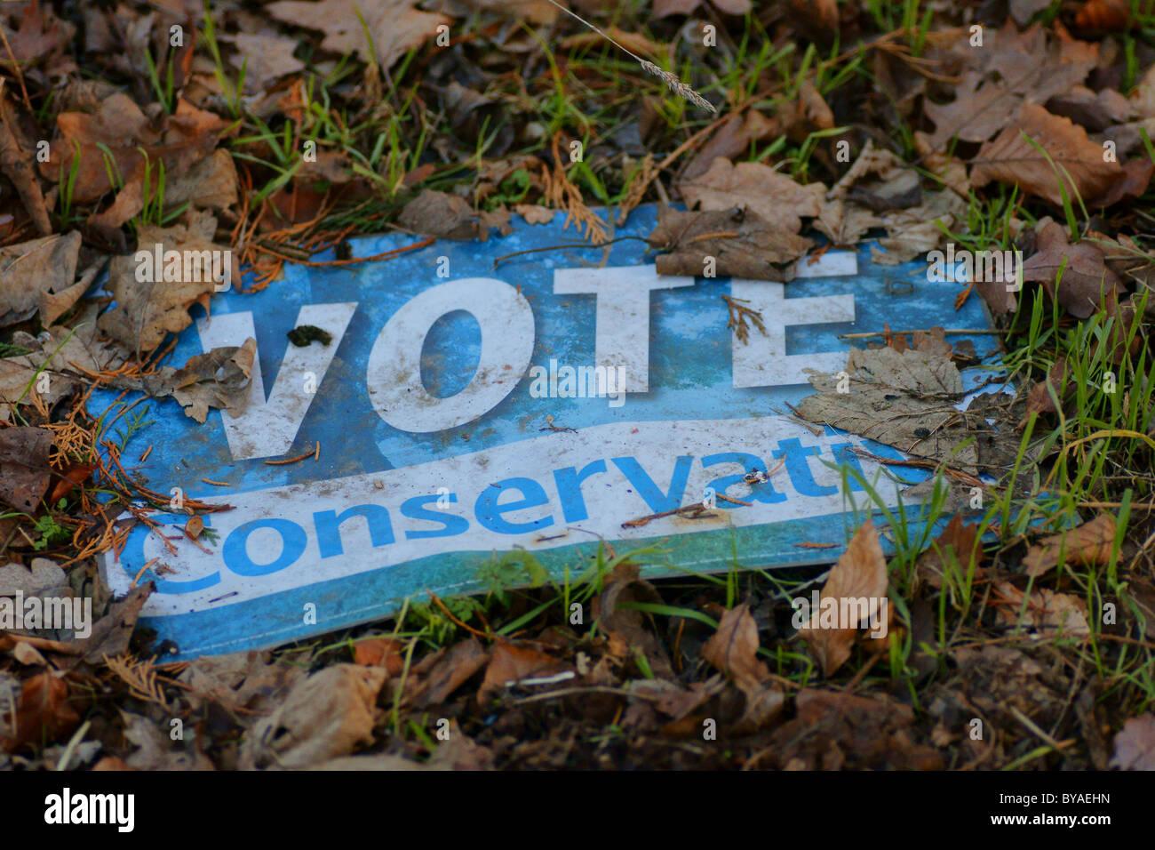 Stimmen konservative? Con-DM Stockbild