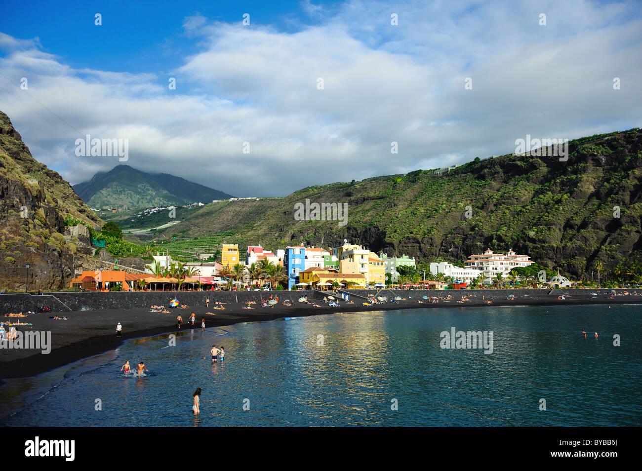 Tazacorte, La Palma, Kanarische Inseln, Spanien Stockbild