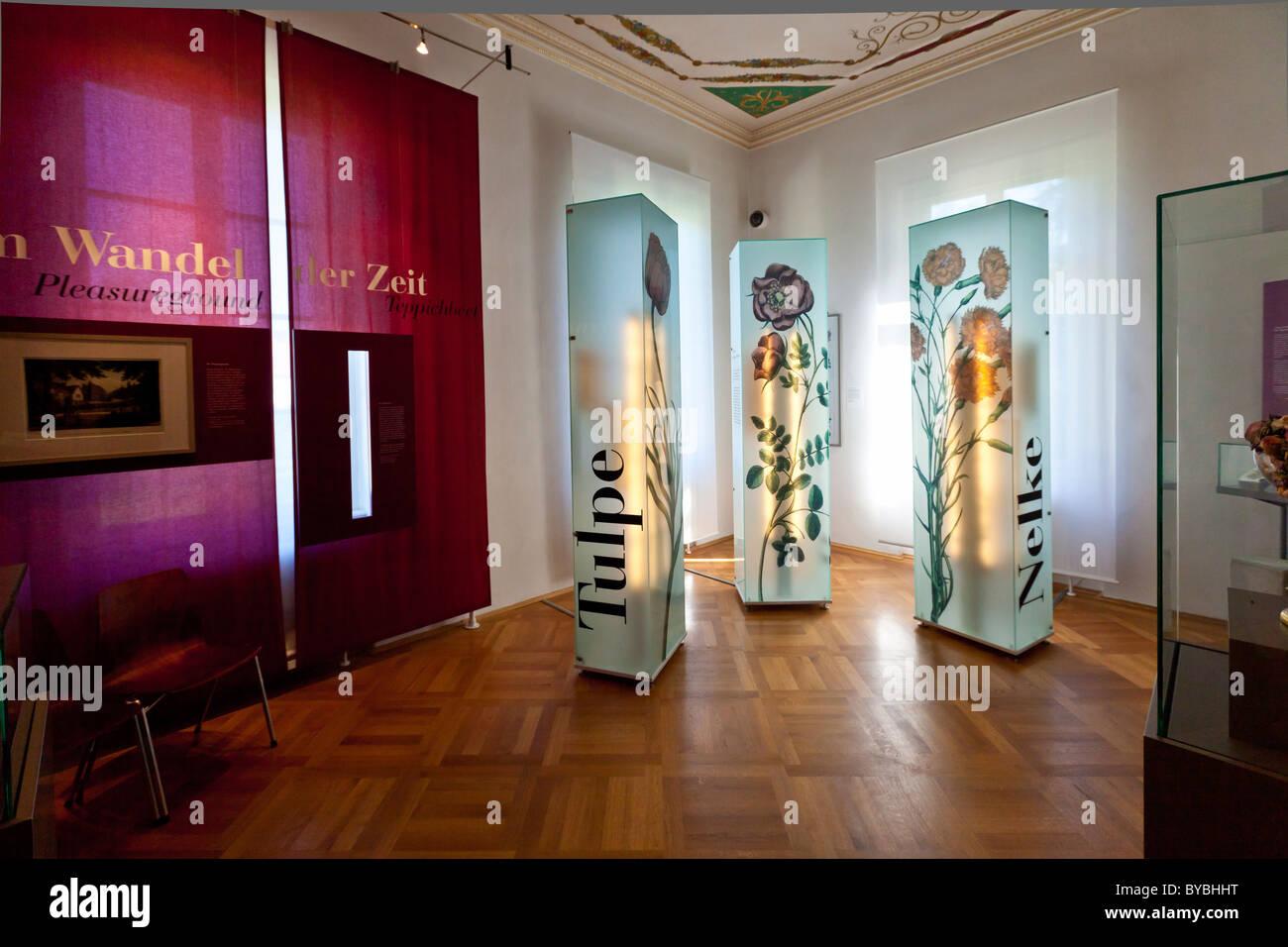 Museum für Landschaftsgestaltung, Schloss Fantaisie Palace, Bayreuth, Upper Franconia, Bayern, Deutschland, Stockbild