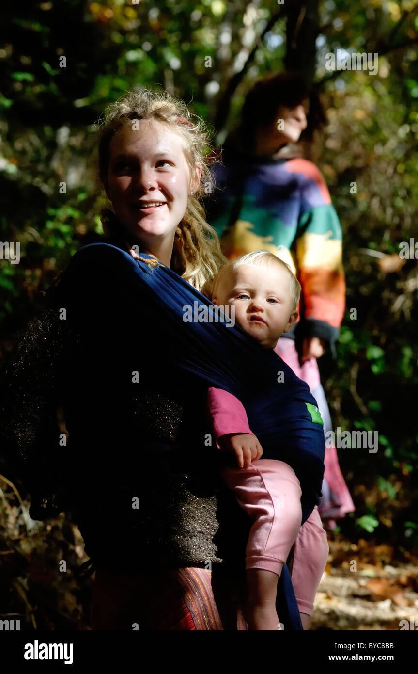 Mutter und Tochter Spa Pausen