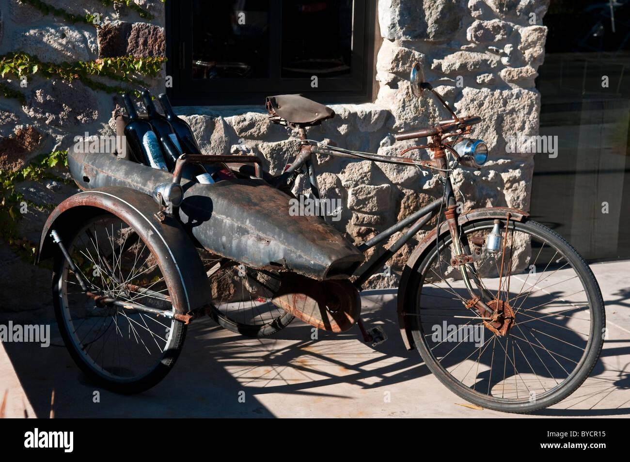 Beiwagen fahrrad bauen mit selber Fahrrad