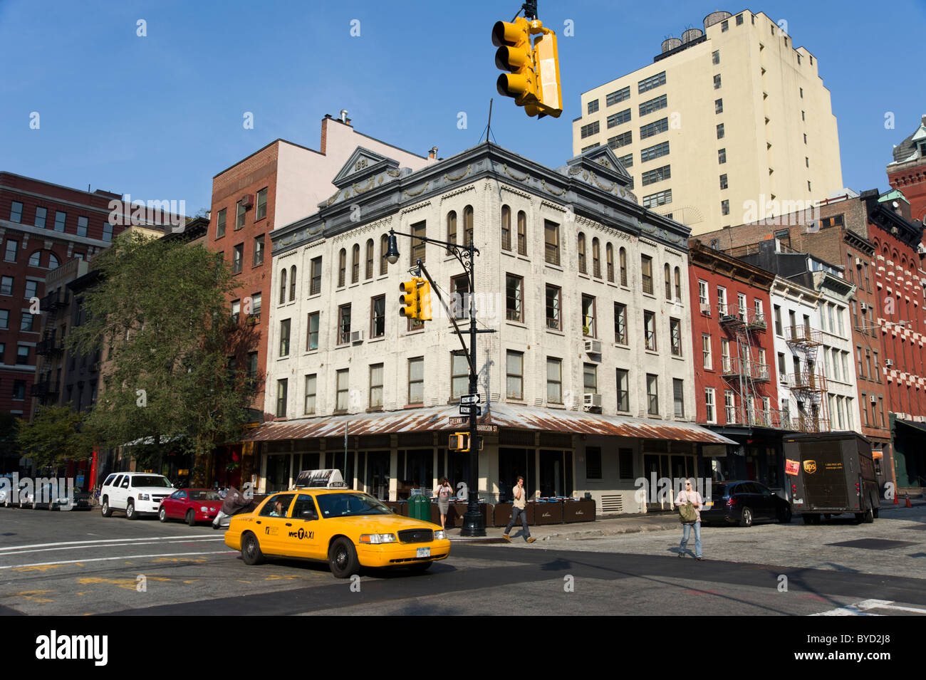 Tribeca, New York City, USA Stockbild