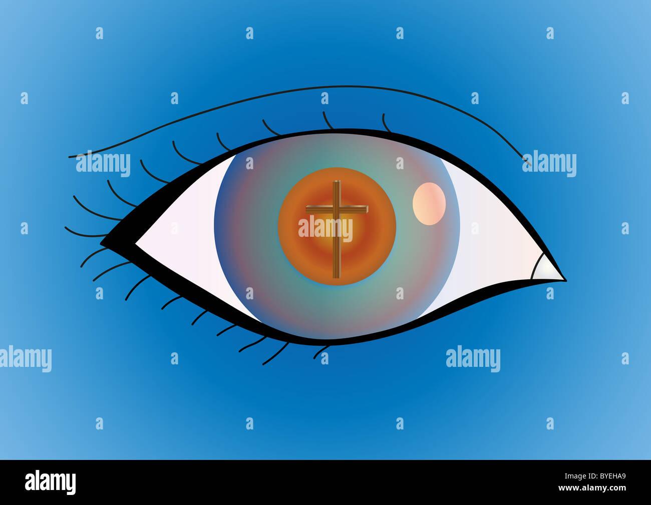 All seeing eye of god stockfotos all seeing eye of god bilder alamy - Christliche hintergrundbilder ...