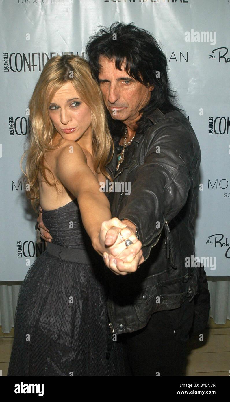Alice-Kupfer und Tochter Calico Cooper Los Angeles
