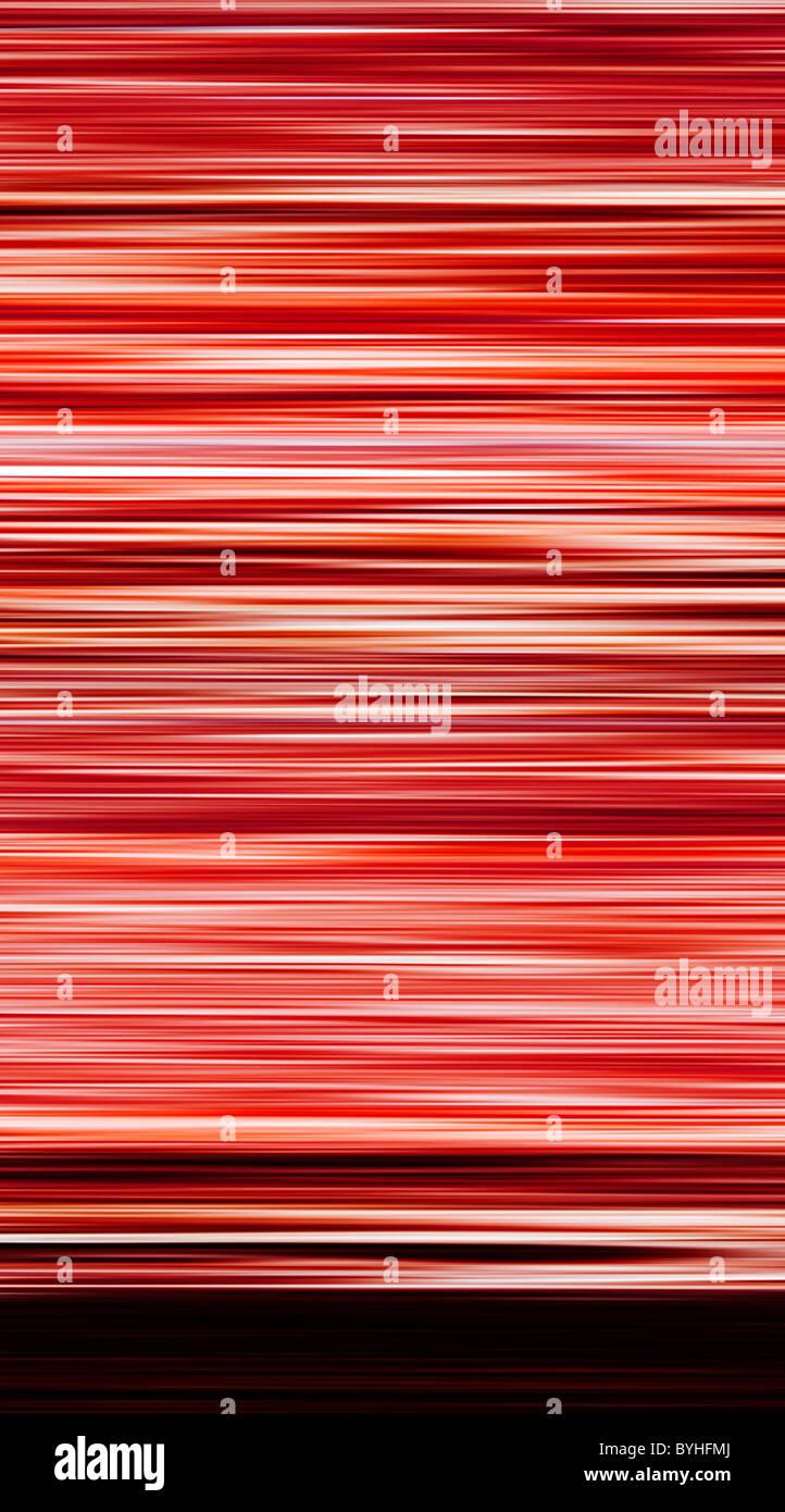Abstrakte Farbe, Farbe - Querstreifen Stockbild