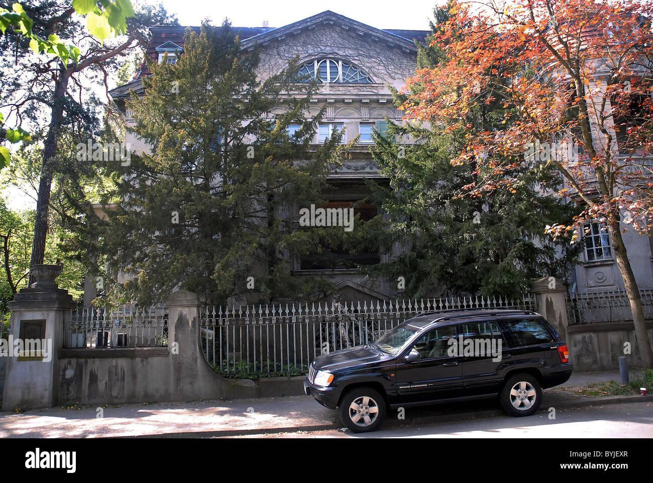 Ausserhalb Der Villa Hoffmann Wo Marilyn Manson Berlin Deutschland