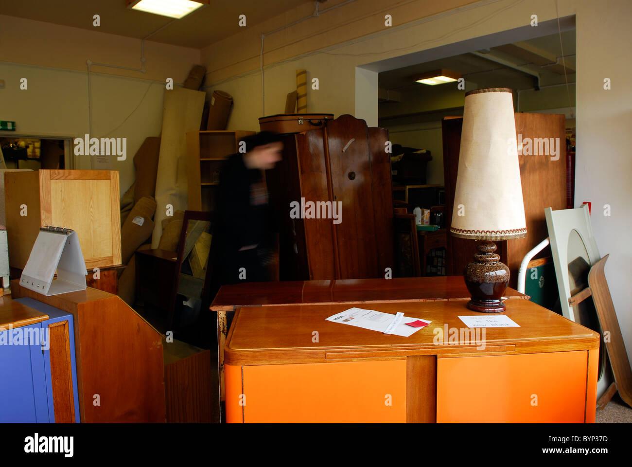 Recycelte Möbel Zum Verkauf In Second Hand Laden Bristol Uk