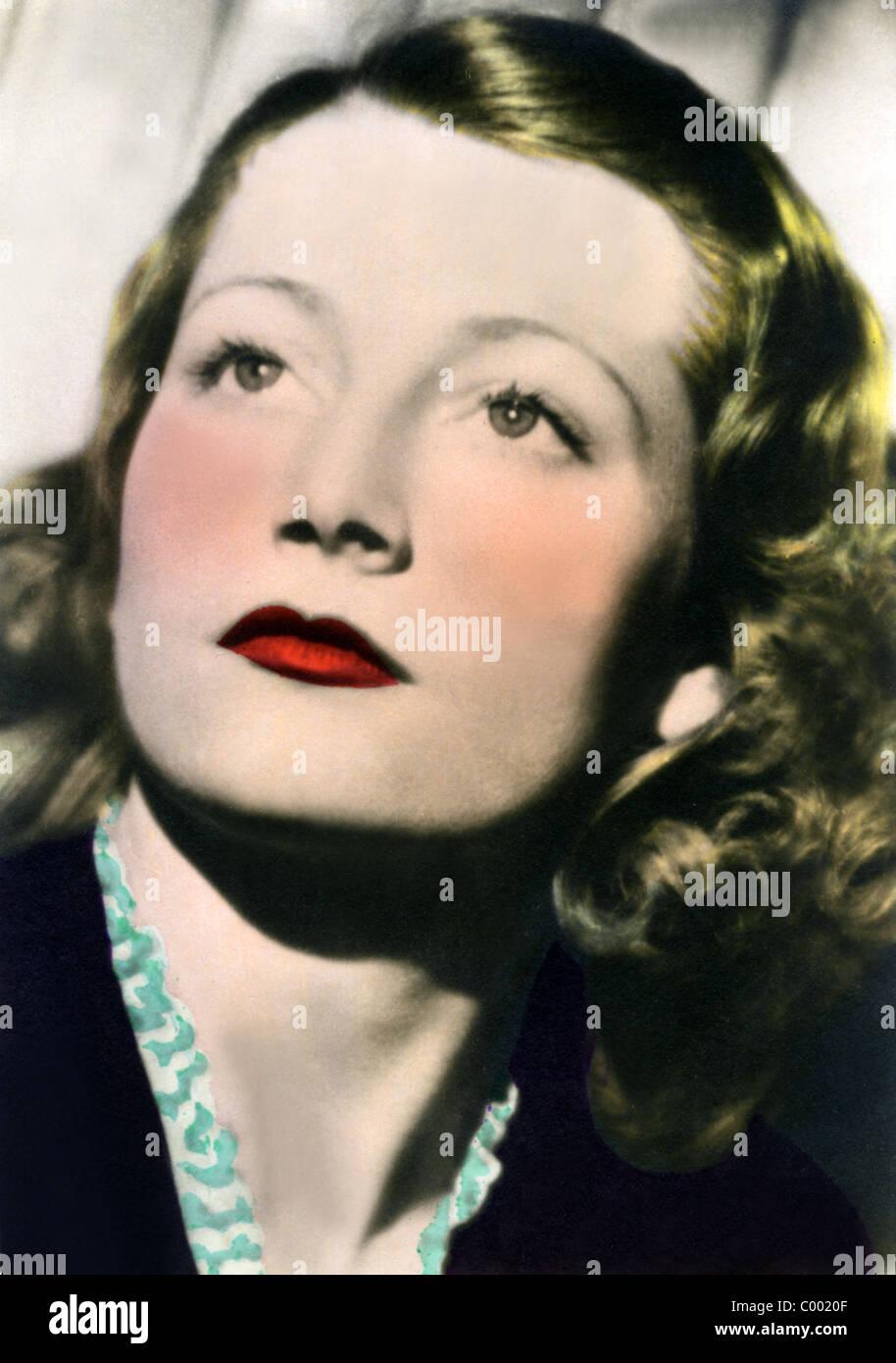 MICHELE ALFA SCHAUSPIELERIN (1938) Stockbild