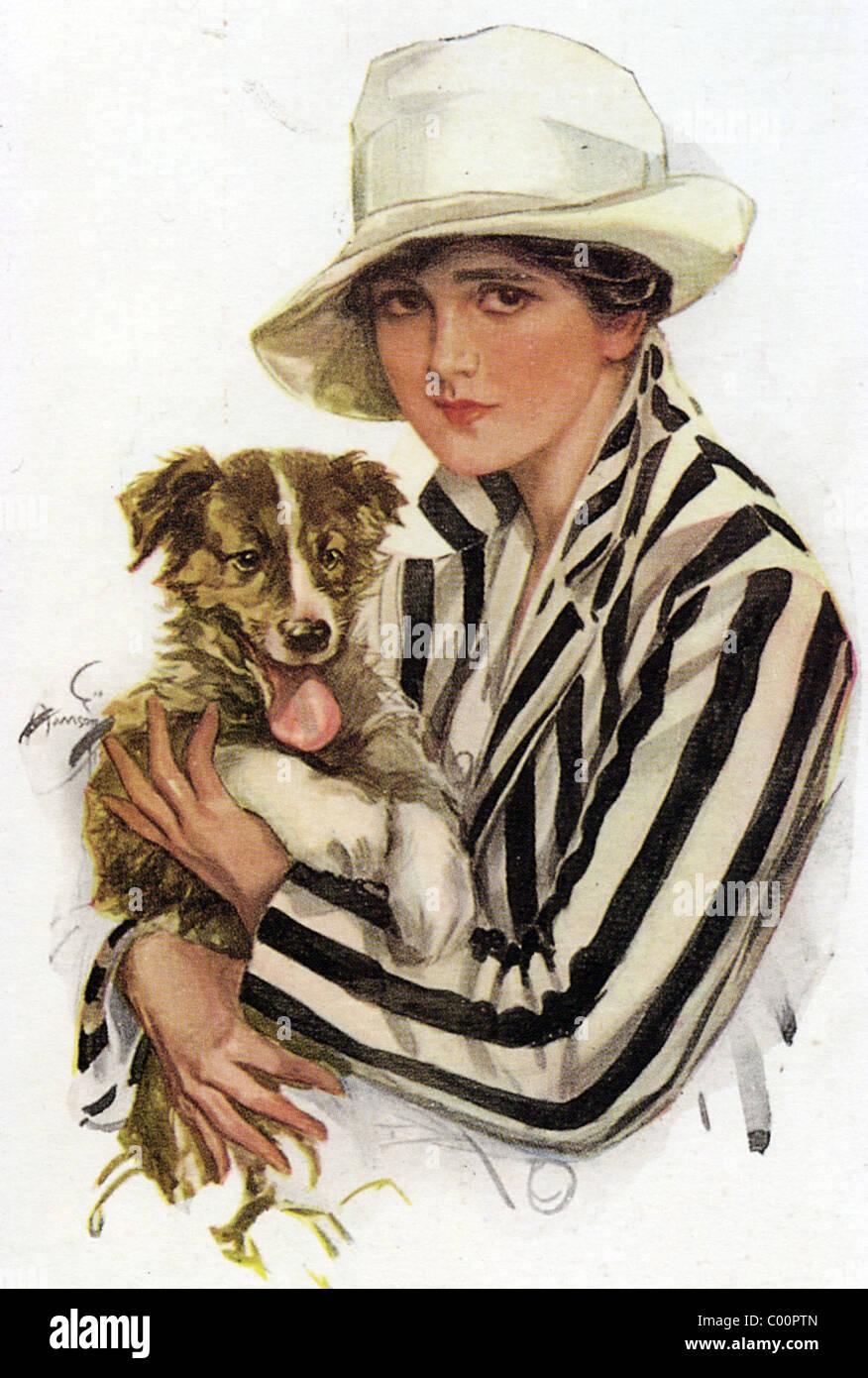 1920s fashion stockfotos 1920s fashion bilder alamy. Black Bedroom Furniture Sets. Home Design Ideas