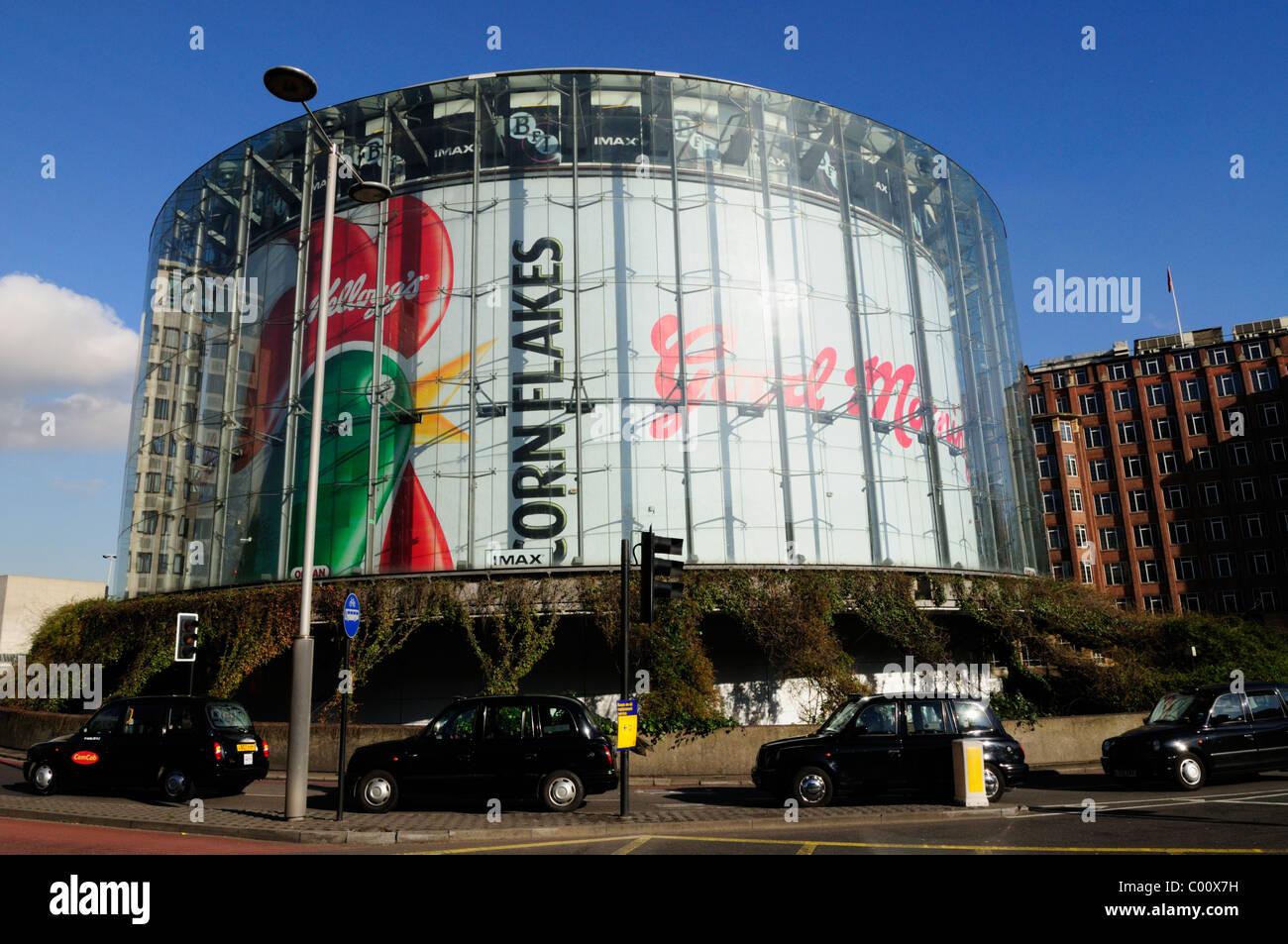 BFI Southbank Kino IMAX, Waterloo, London, England, Vereinigtes Königreich Stockbild