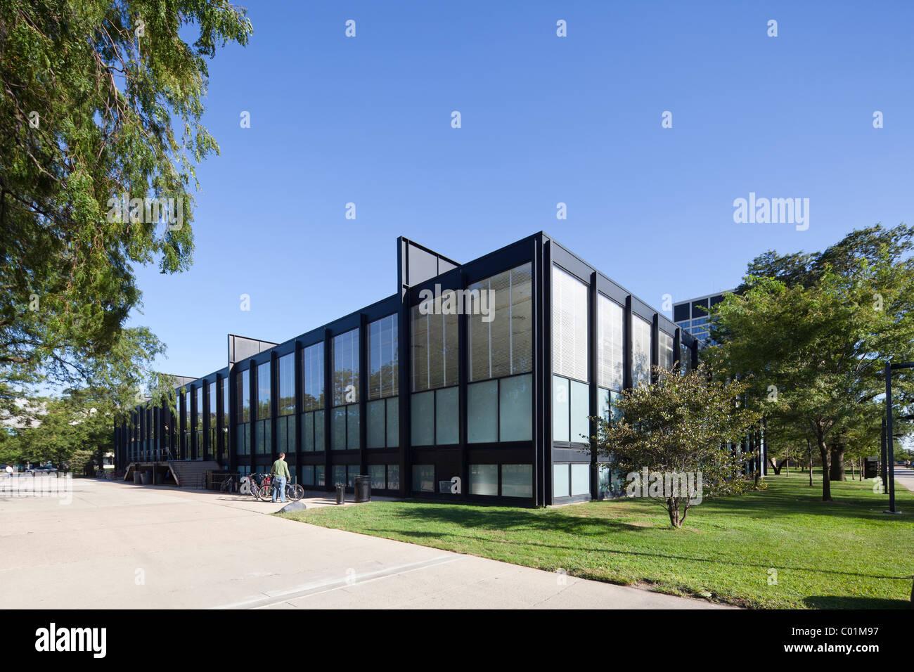 Hochschule Fã¼R Architektur | S R Crown Hall Hochschule Fur Architektur Illinois Institute Of