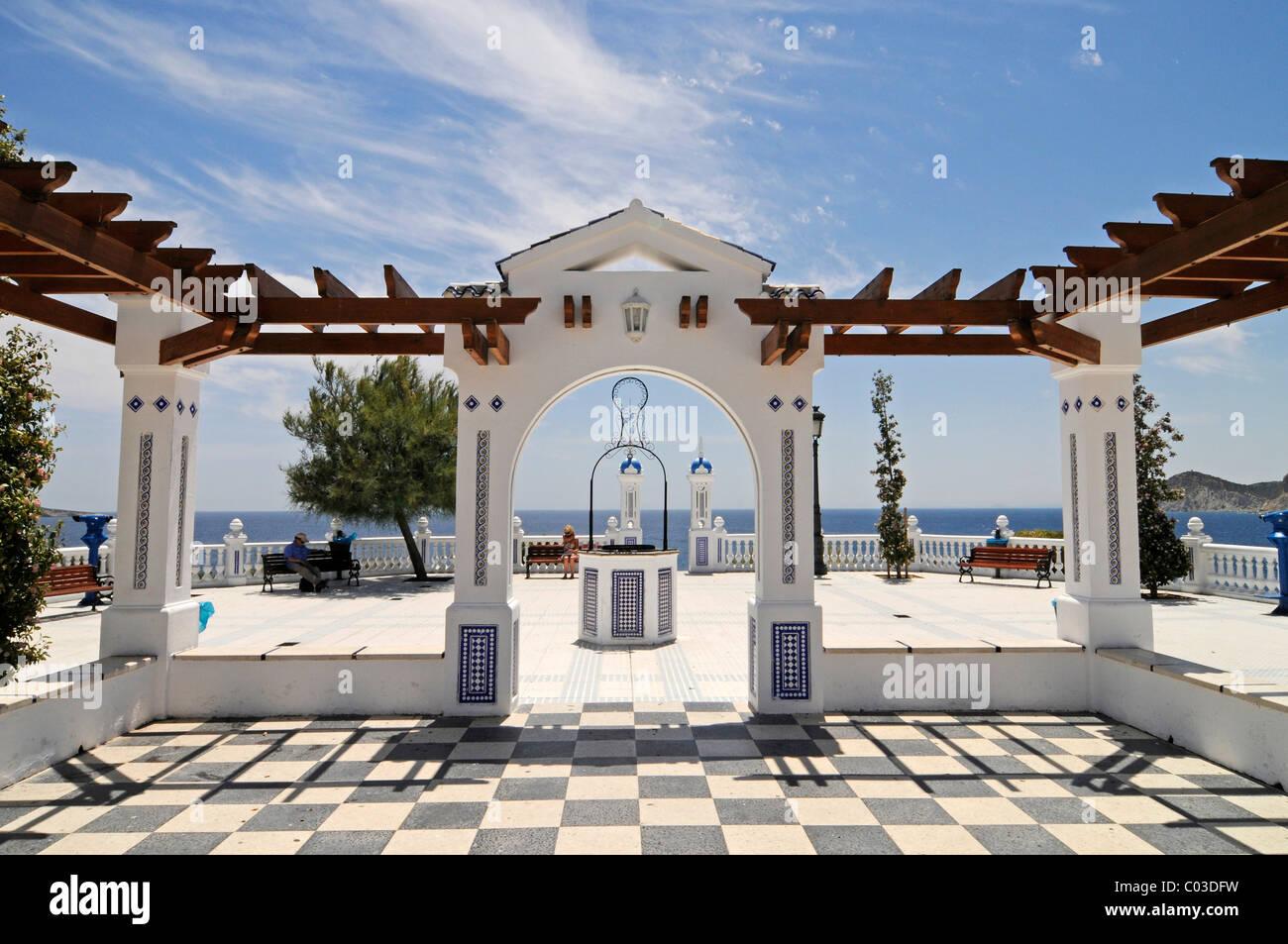 Balkon Des Mediterran Aussichtsplattform Playa De Levante Strand