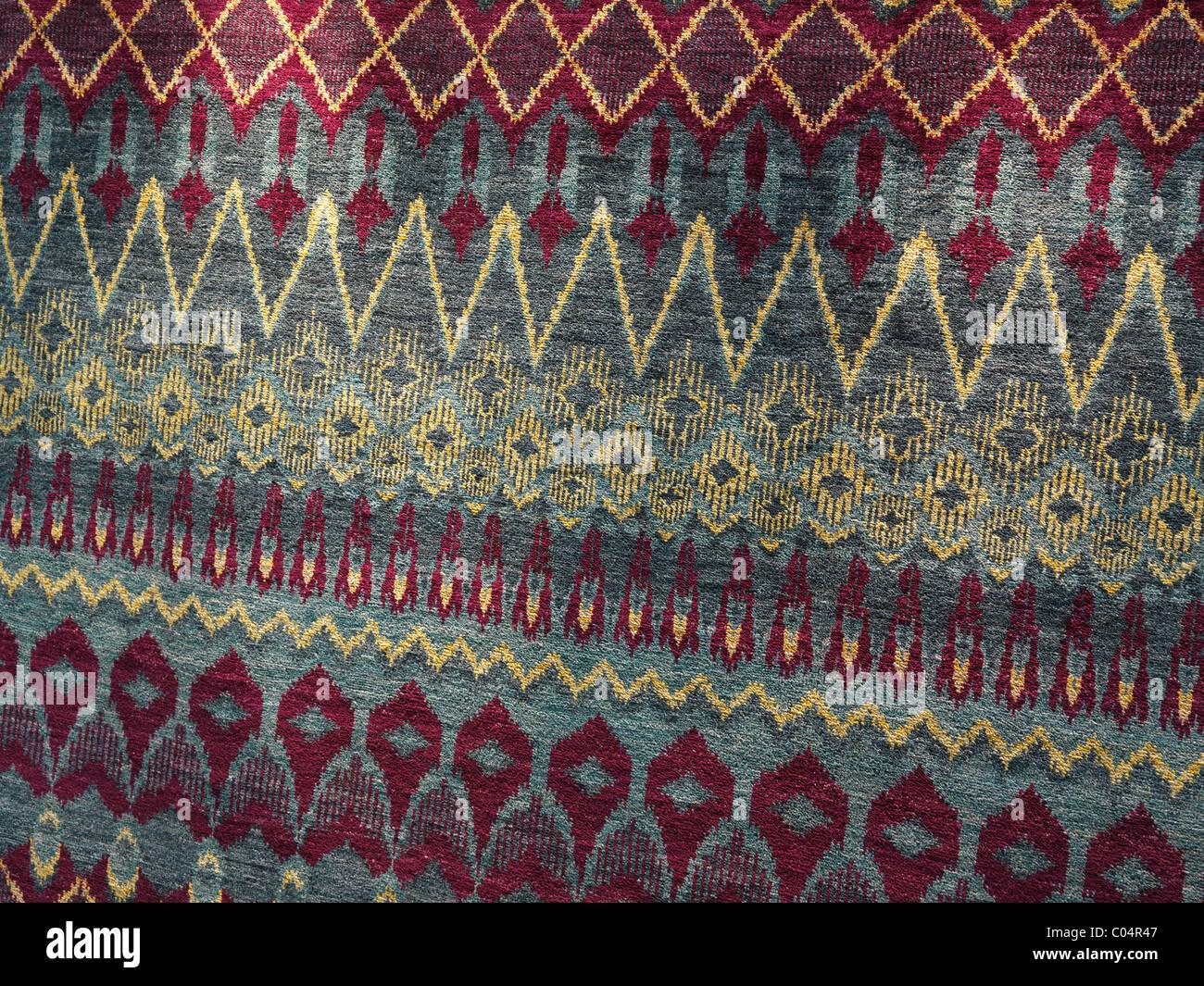 Vintage Teppich mit bunten Muster. Hintergrundtextur Stockfoto, Bild ...