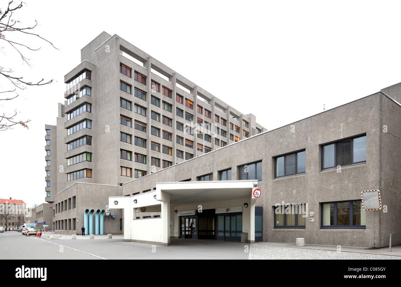 Krankenhaus am Urban Krankenhaus, Kreuzberg, Berlin, Deutschland, Europa Stockbild