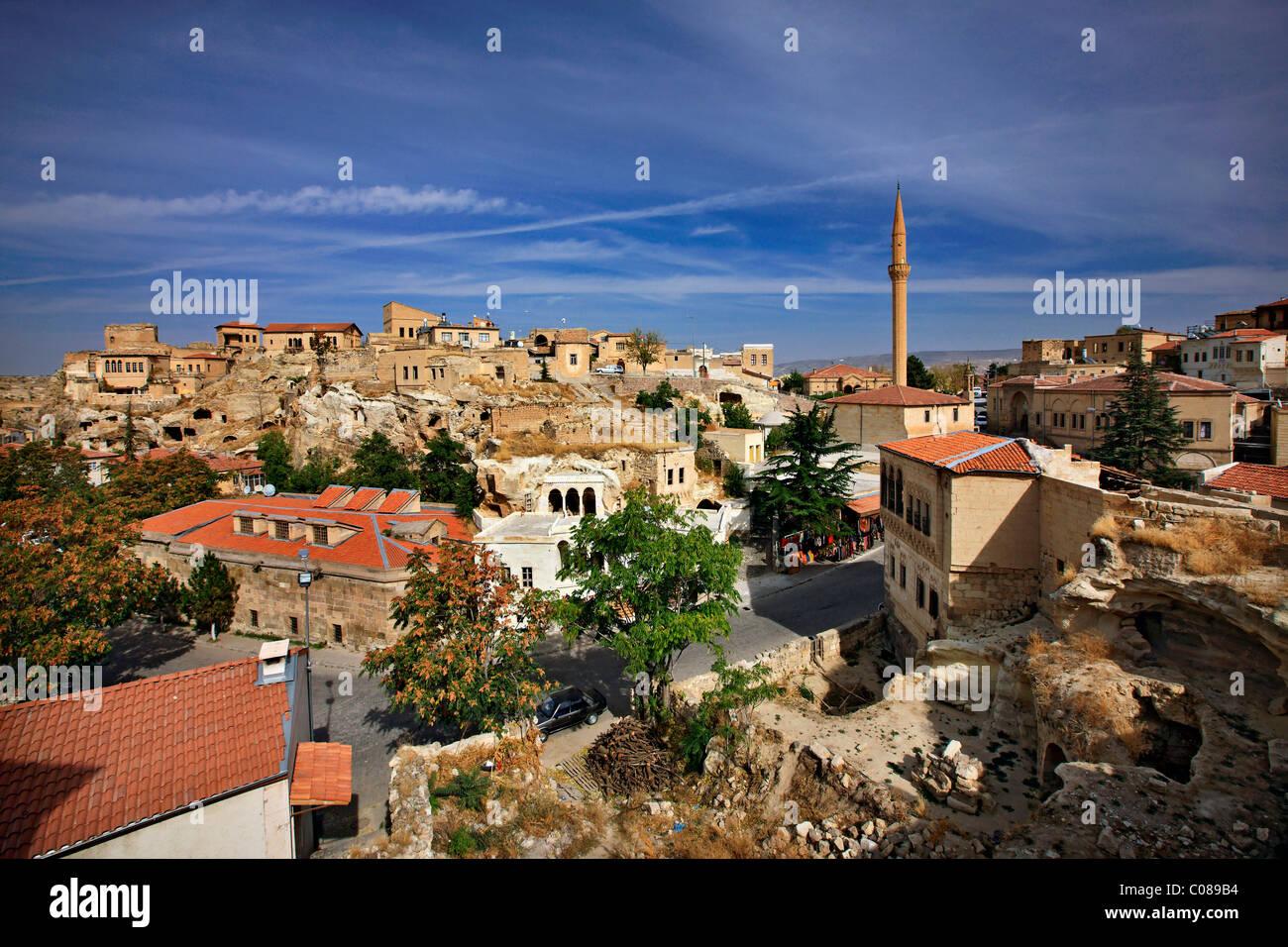 """Sinasos (""""Mustafapasa"""") eine der schönsten Städte in Kappadokien, Nevsehir, Türkei Stockbild"""