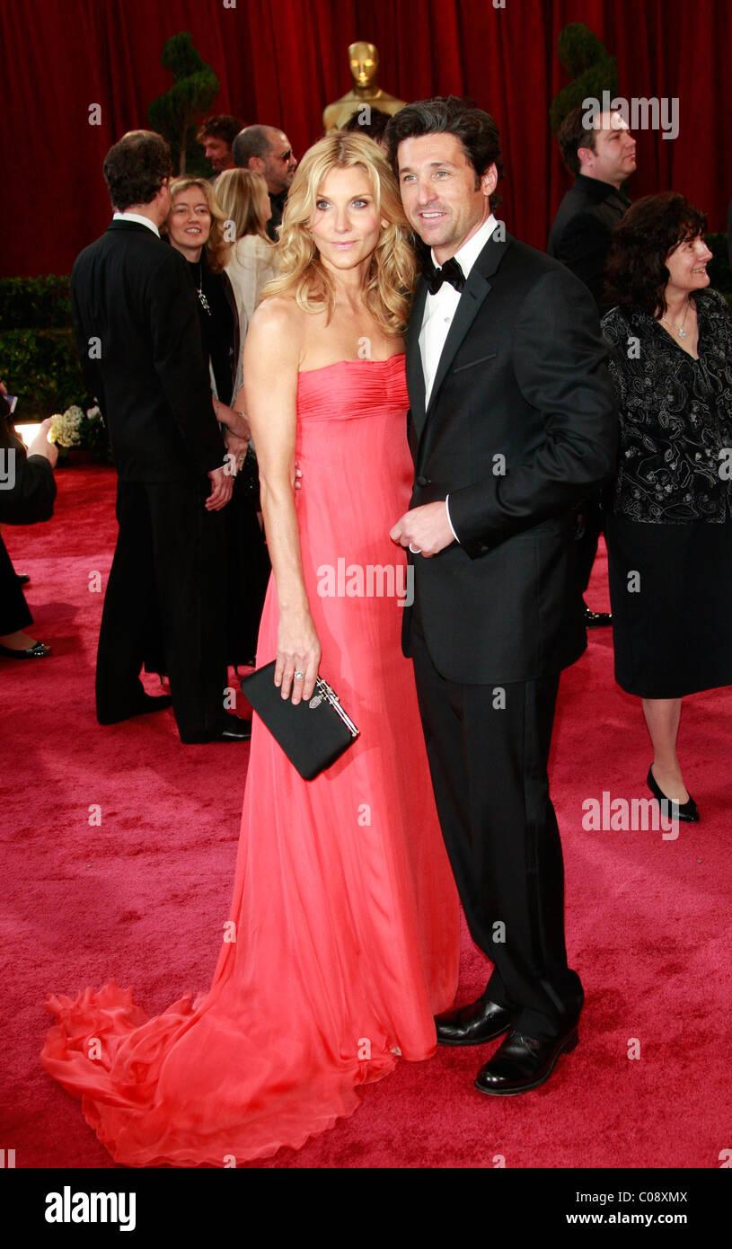 Patrick Dempsey Und Frau Jillian Fink Dempsey Den 80th Annual