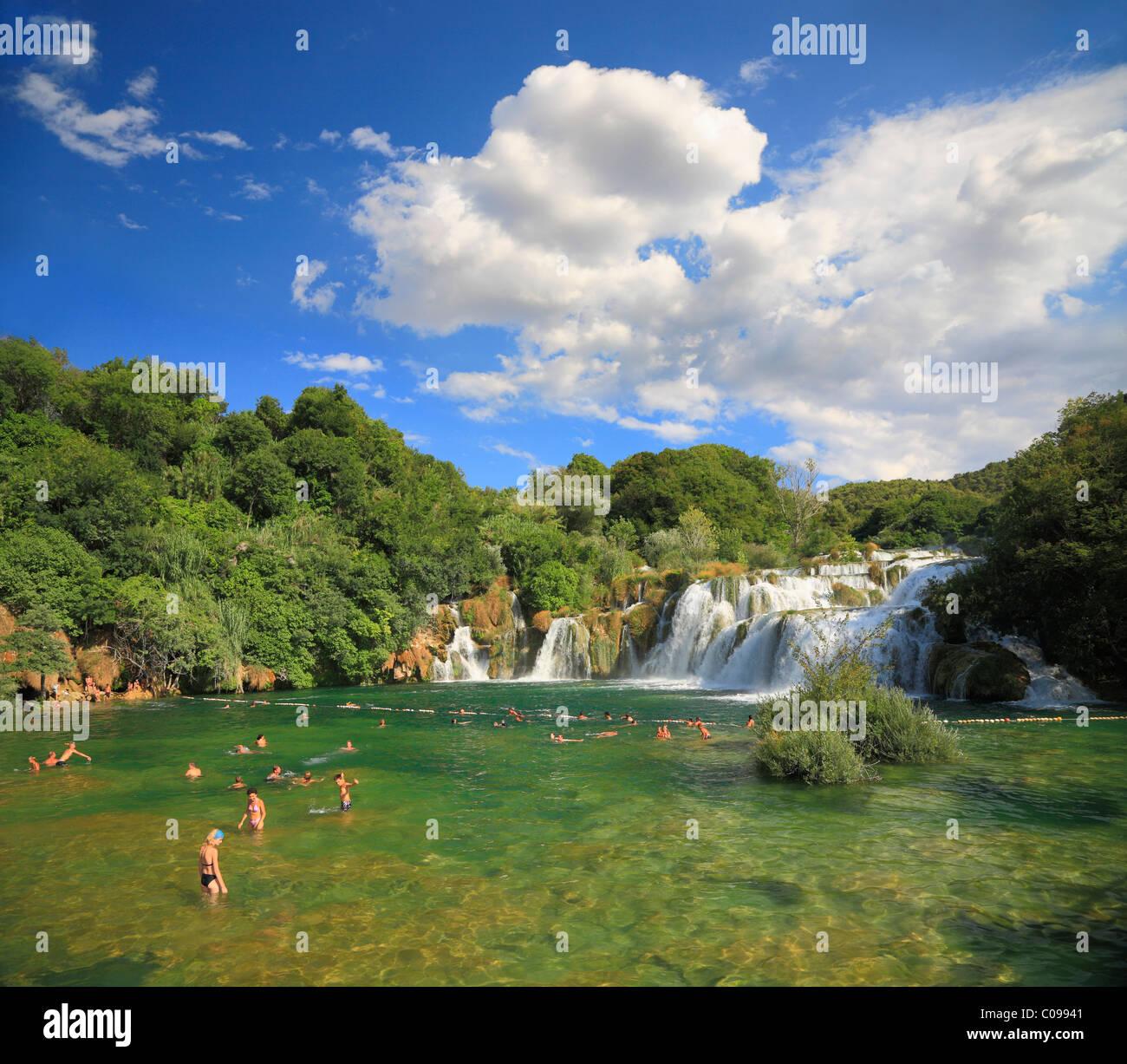 Nationalpark Krka in Kroatien in der Nähe von Sibenik. Stockfoto