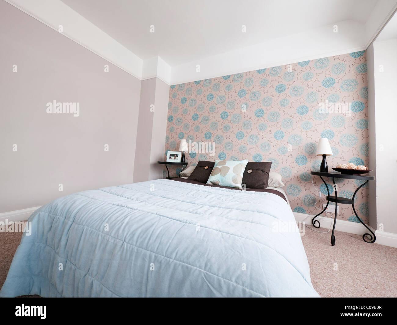 Schlafzimmer Im Neu Umgebauten Haus Cleanes Design Modern