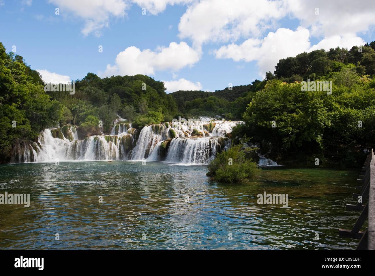 Krka Nationalpark, Aeibenik-Knin County, Kroatien, Europa Stockbild