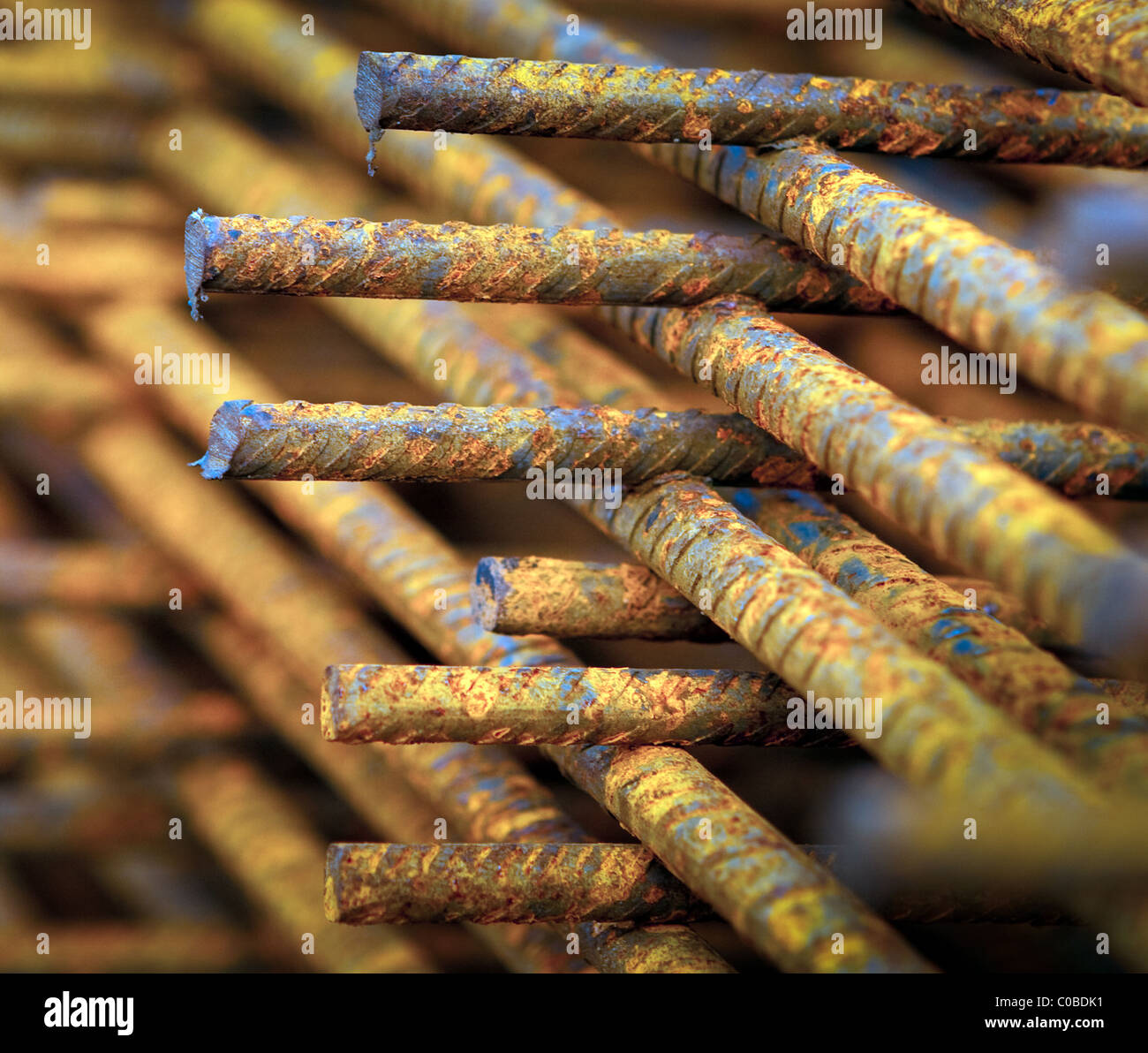 Reinforcing Concrete Bars Stockfotos & Reinforcing Concrete Bars ...