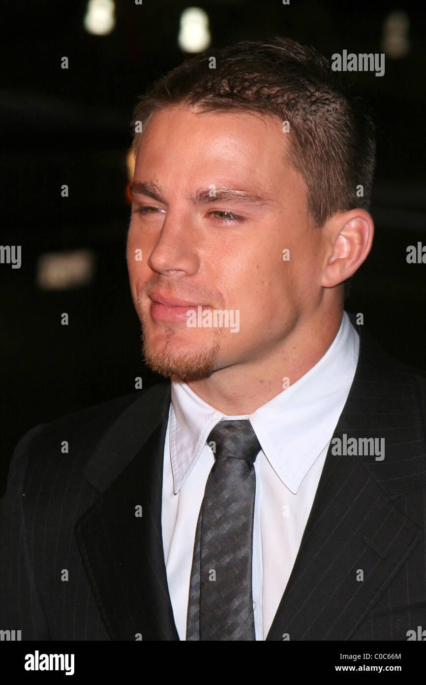 """Channing Tatum Los Angeles Premiere von """"Stop-Loss"""" - Ankunft am Direktoren Guild von Amerika Los Angeles, Stockbild"""