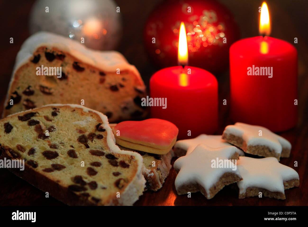 Christmas Cake With Marzipan Inside