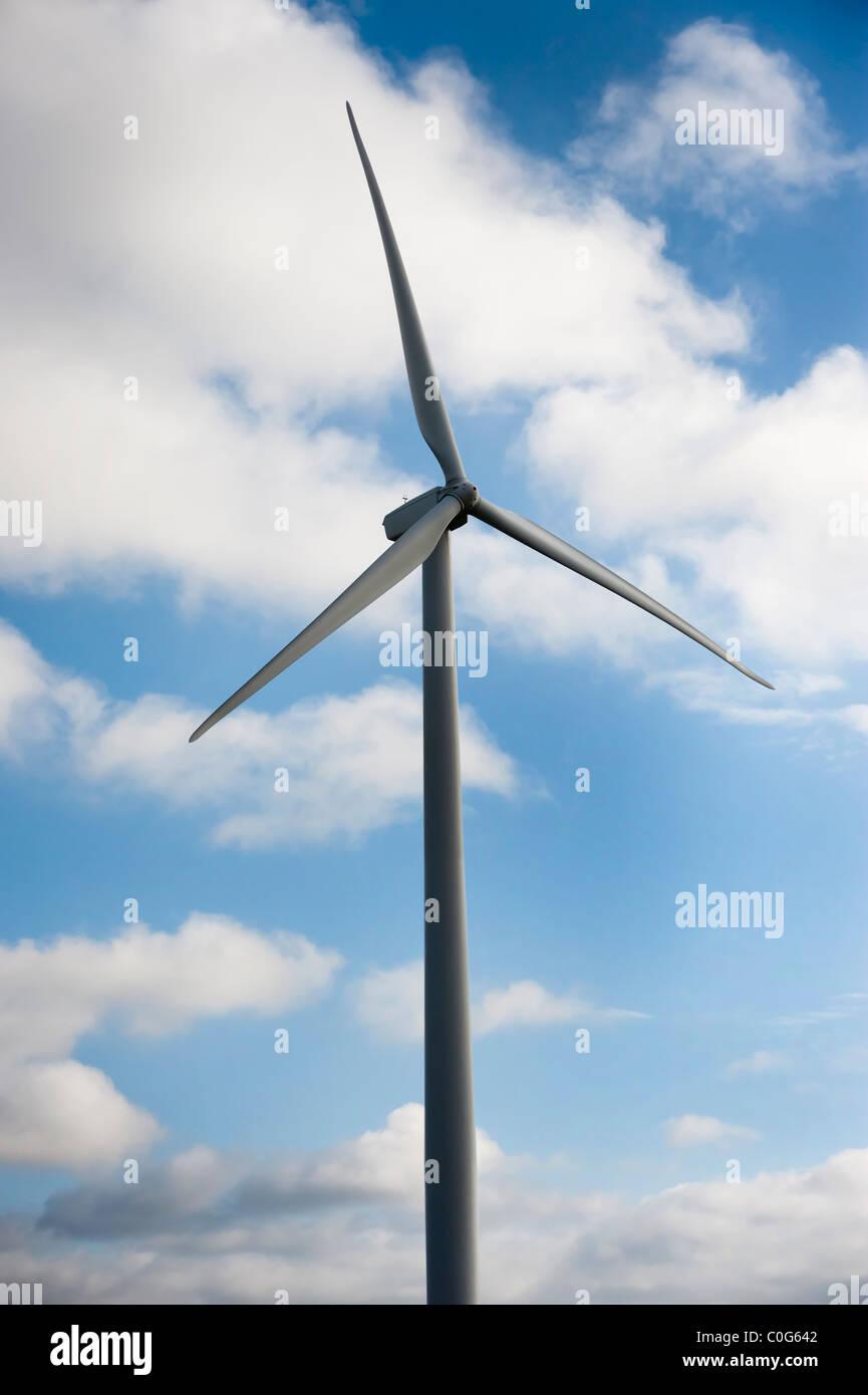 Nahaufnahme, wind-generator Stockbild