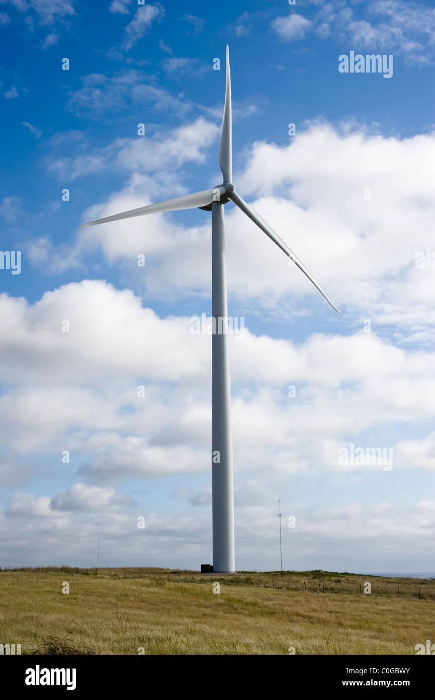 Windgenerator Stockbild
