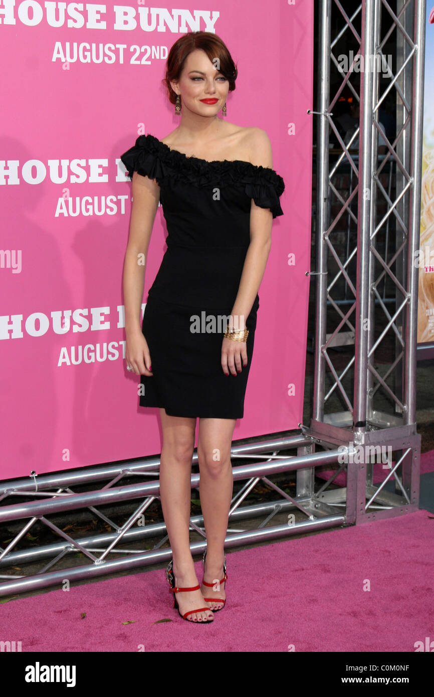 Super Emma Stone Premiere Von The House Bunny An Der Manns Beutiful Home Inspiration Ommitmahrainfo