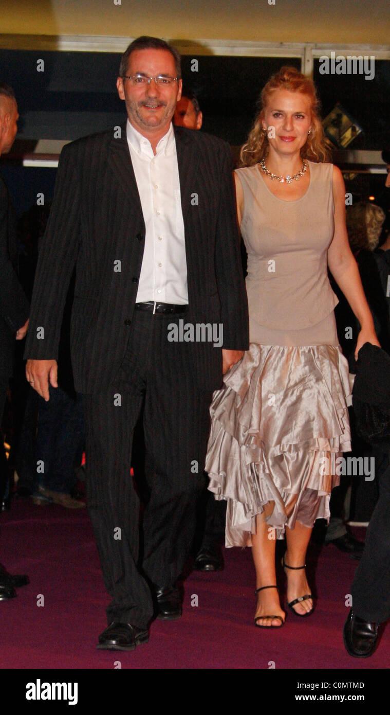Matthias Platzeck And Jeanette Platzeck Stockfotos Matthias
