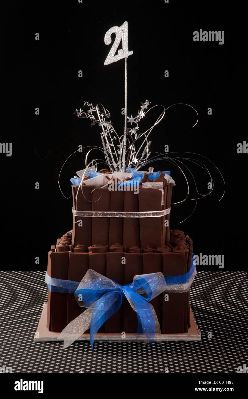 21 Geburtstagskuchen Stockfoto Bild 34961150 Alamy