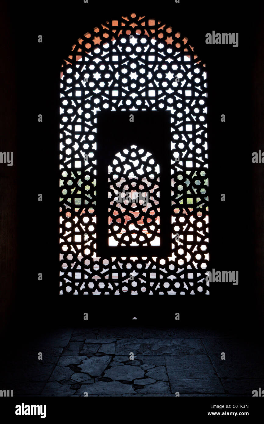 Mughal Window Screen Stockfotos & Mughal Window Screen Bilder - Alamy