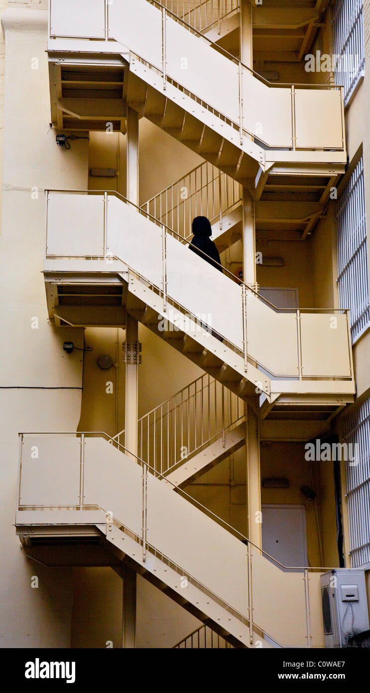 external stairs stockfotos external stairs bilder alamy. Black Bedroom Furniture Sets. Home Design Ideas
