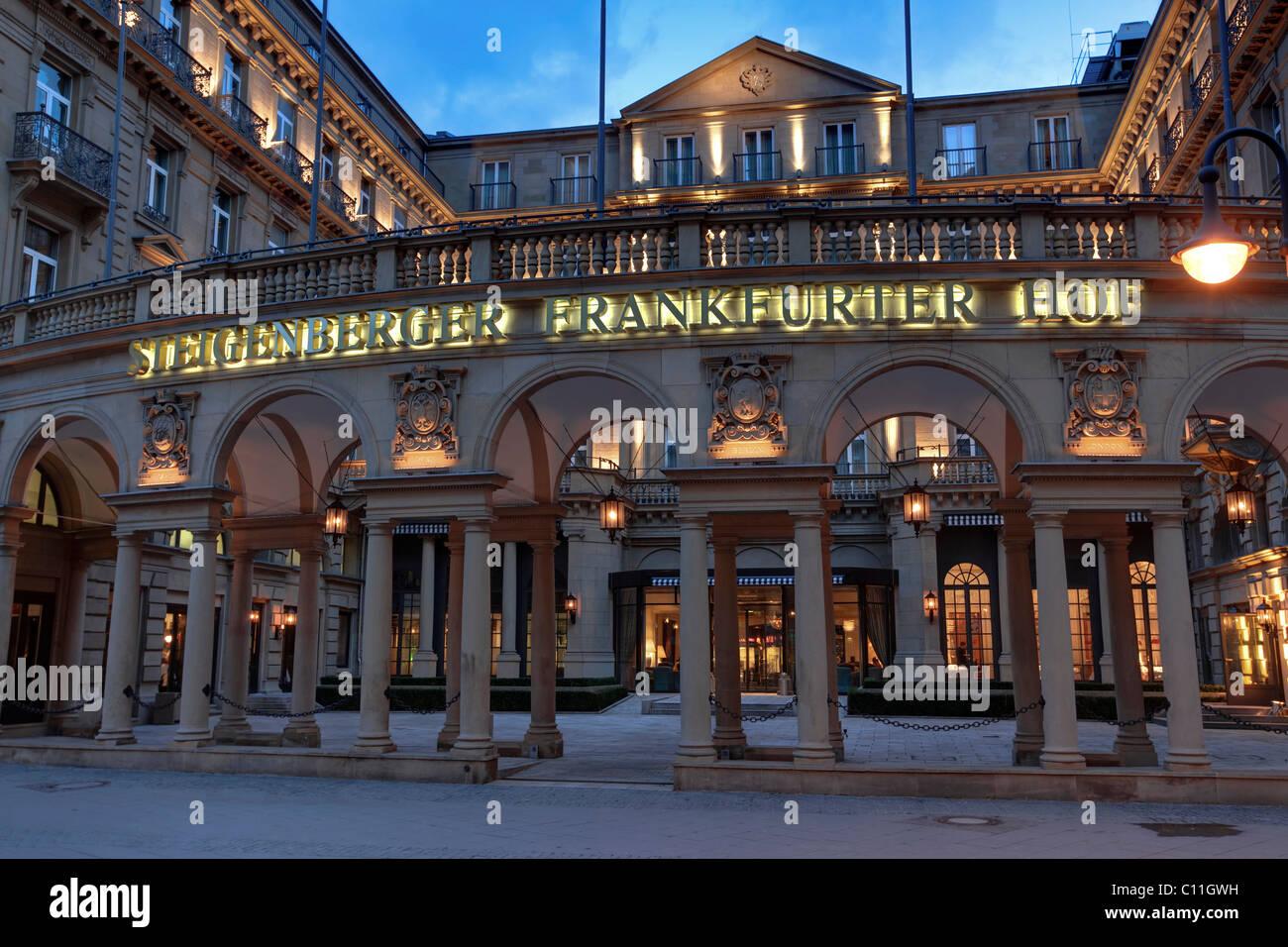 steigenberger frankfurter hof luxus hotel kaiserstra e. Black Bedroom Furniture Sets. Home Design Ideas