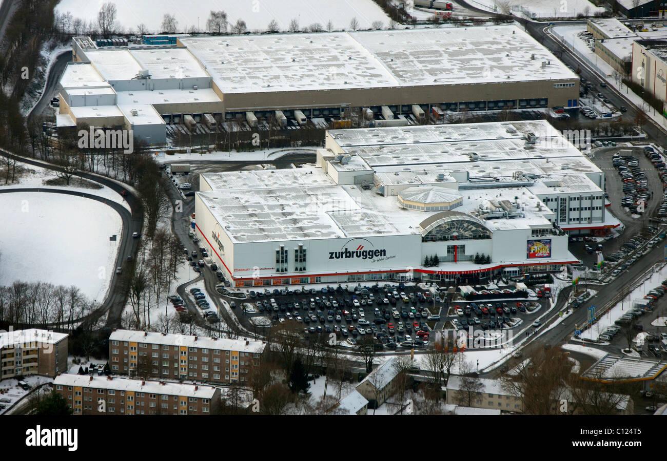 Antenne Zu Sehen Zurbrueggen Möbel Shop Unna Ruhrgebiet Region