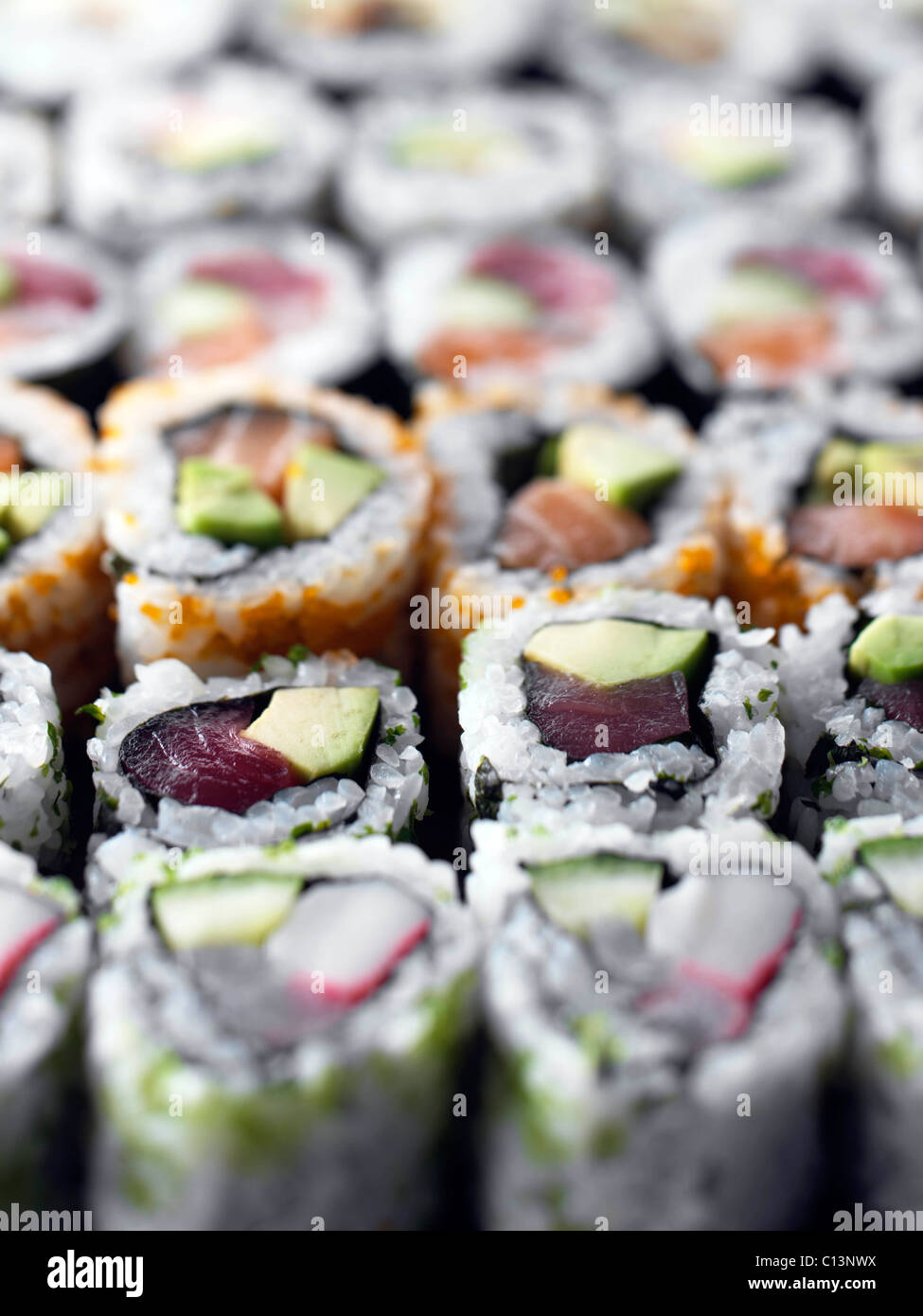 Gesamten Rahmen Sushi japanische Küche Stockfoto, Bild: 35118438 - Alamy