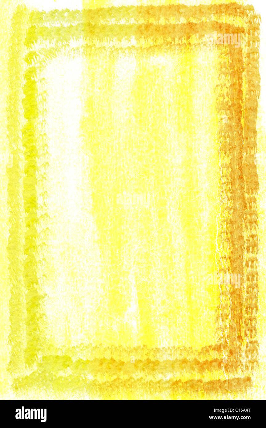 Yellow Watercolour Frame Stockfotos & Yellow Watercolour Frame ...