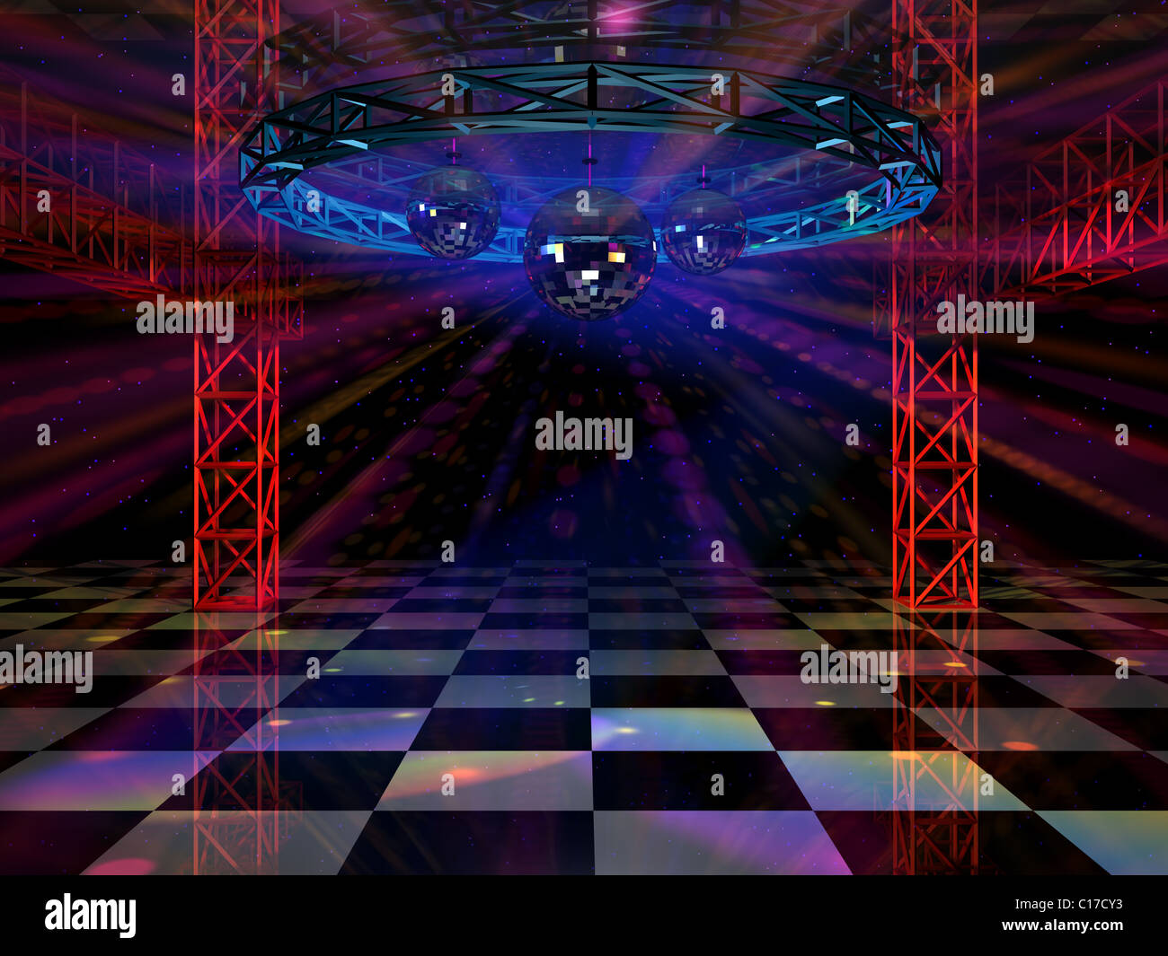 Stage Truss Red Light Stockfotos & Stage Truss Red Light Bilder - Alamy